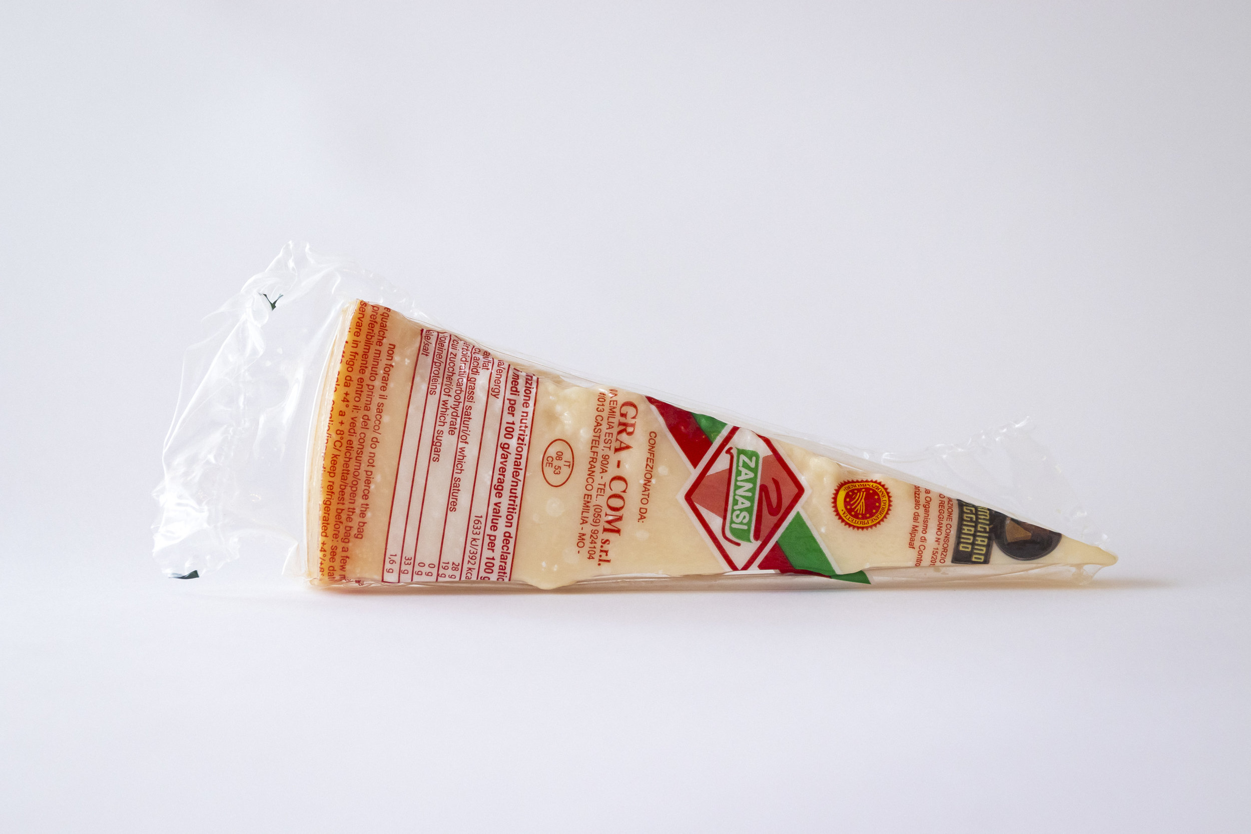 Parmigiano Reggiano DOP Zanasi 300gr -