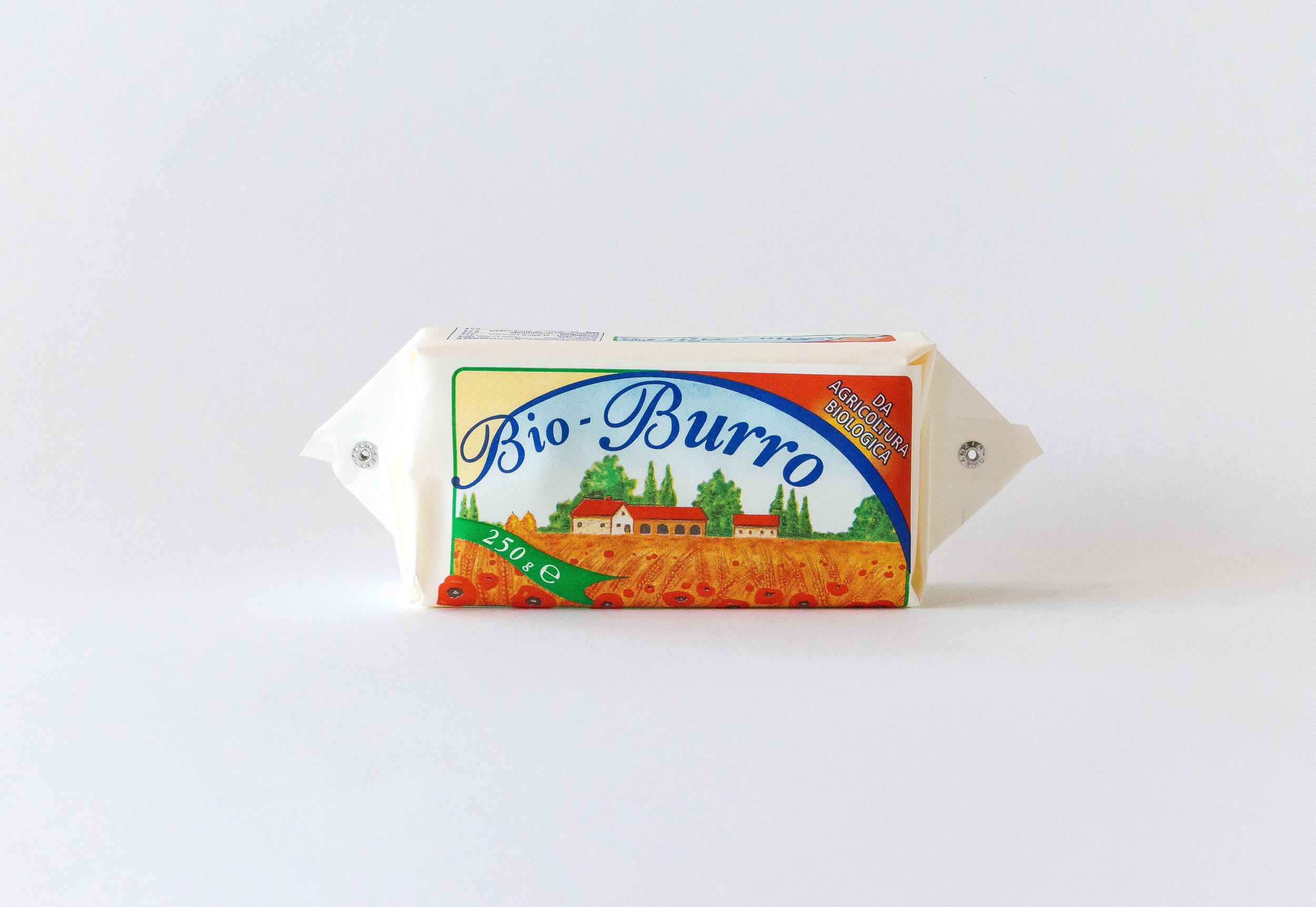 Bio-Burro Zanasi 250gr - Burro Zanasi da agricoltura Biologica