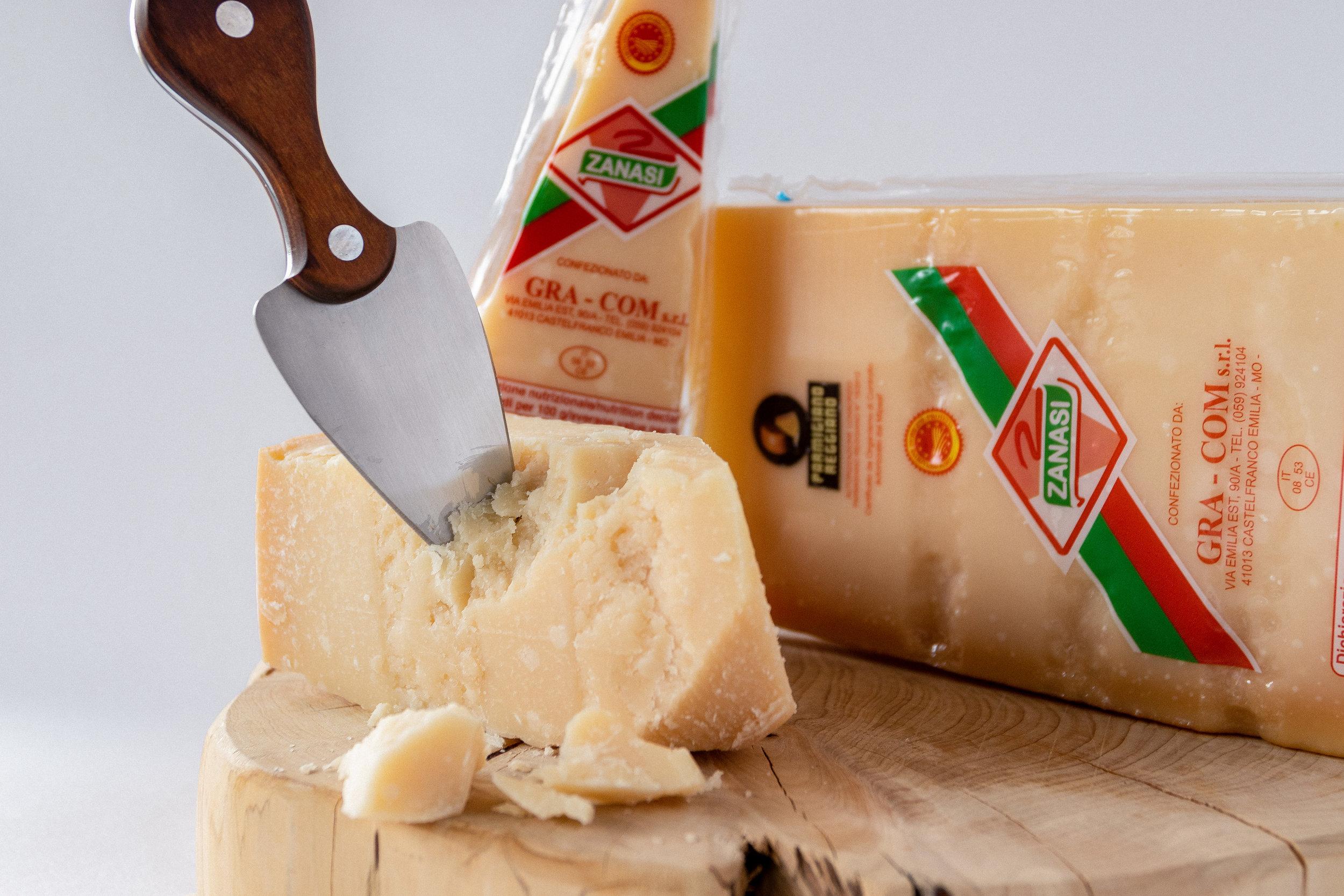 Il Parmigiano Reggiano DOP Zanasi