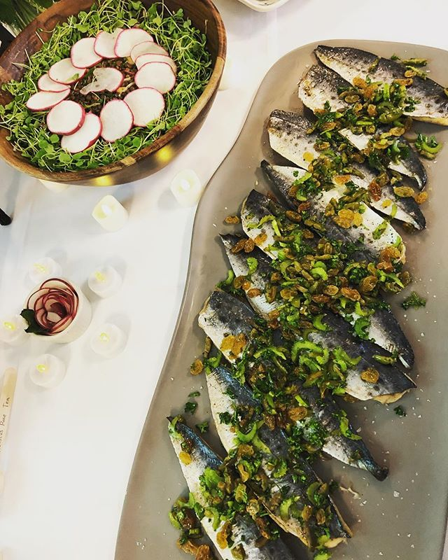Today I judged a food competition @nyuniversity and this was the #allergyfree group - they made such a beautiful #spring #salad and #herb #broiled #mackerel. It was a nice reminder that you can have beautiful, delicious food even with #restrictions. 💗 With love and Balance, Lauren 💗 . . . . #rd #registereddietitian #nyusteinhardt #nutritionbymama #balancedliving #balancedlife #wholefood #dieteticintern #dieteticinternship #registereddietitian #momlife #workingmama #workinmama #runningmama #nycmarathon #fredsteam #innerstrength