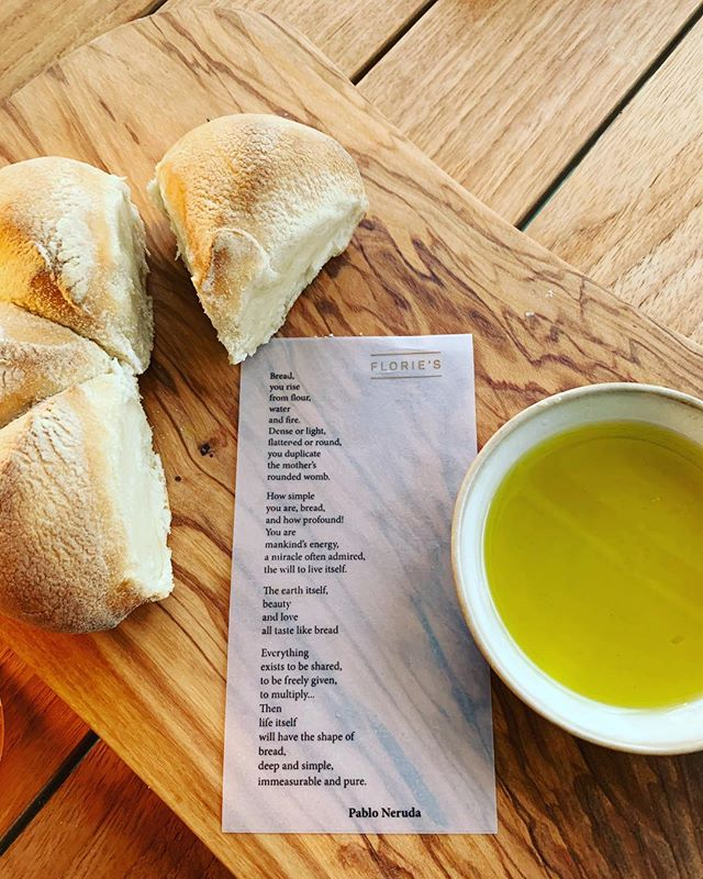 A love poem by #pabloneruda to #bread, a beautiful source of sustenance! 💗 Lauren 💗 . . . . #registereddietitian #practicewhatyoupreach #practicemakesperfect #homemademama #nyusteinhardt #nutritionbymama #balancedliving #balancedlife #wholefood #dieteticintern #dieteticinternship #registereddietitian #momlife #workingmama #workinmama #homecooking #cookwithlove #simplesalmon #simplerecipes
