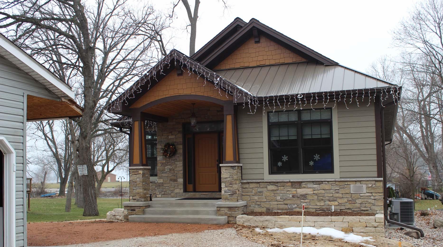 Muskego Lake Cottage - Custom Home