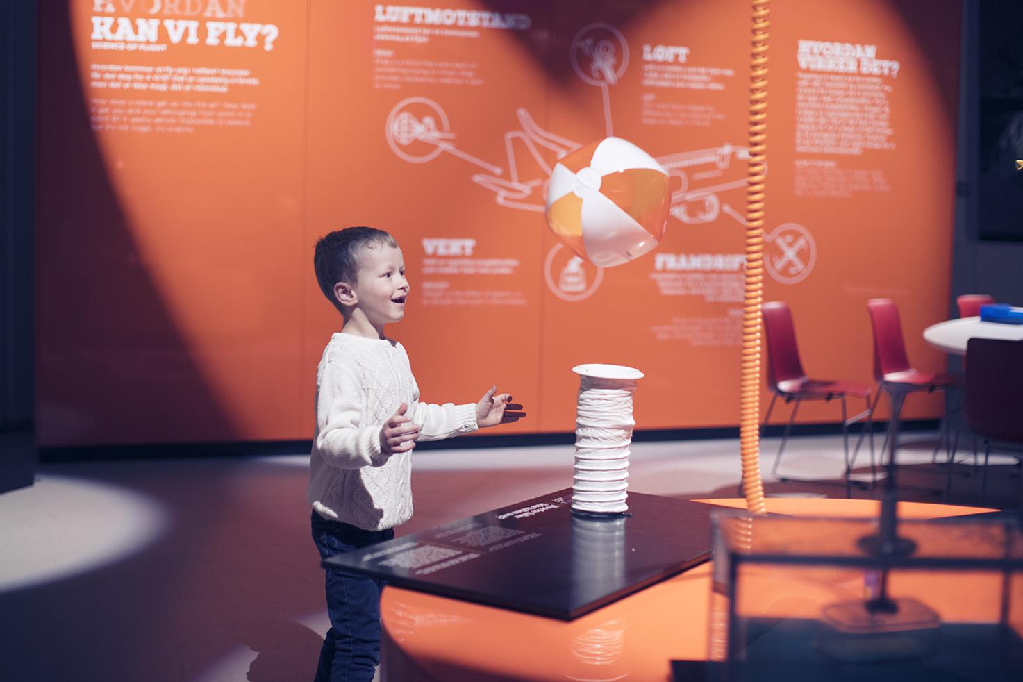 Luftrommet - Lek og lær om luft – for hele familien