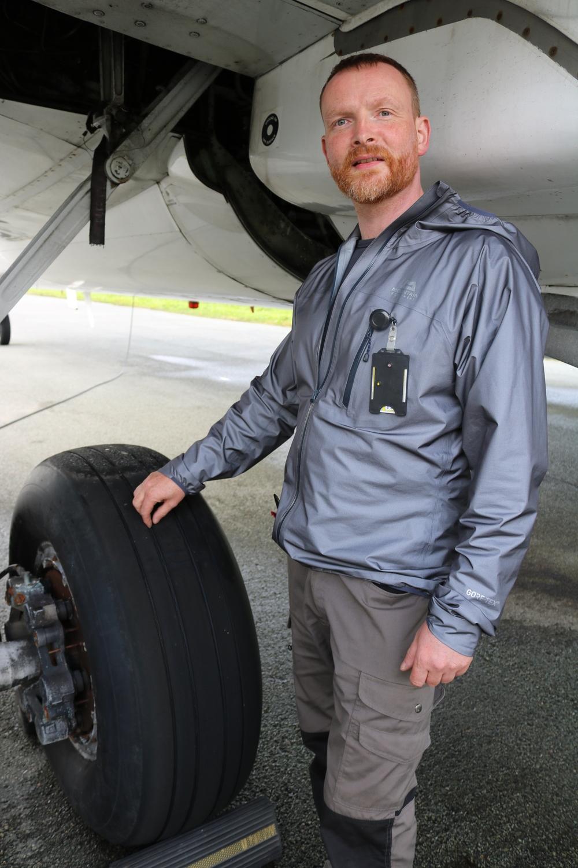 Michael Loftus ser frem til å kunne fylle tomrommet i maskinen