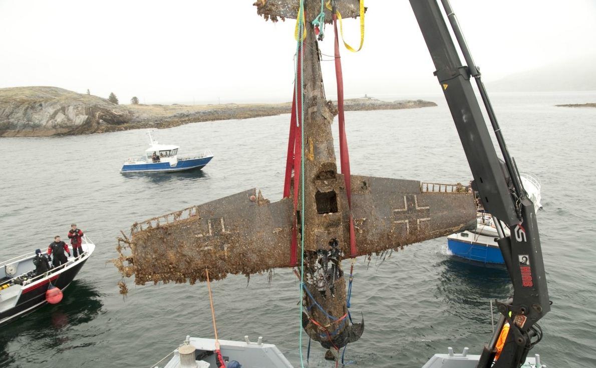 Under redningsaksjonen i 2009