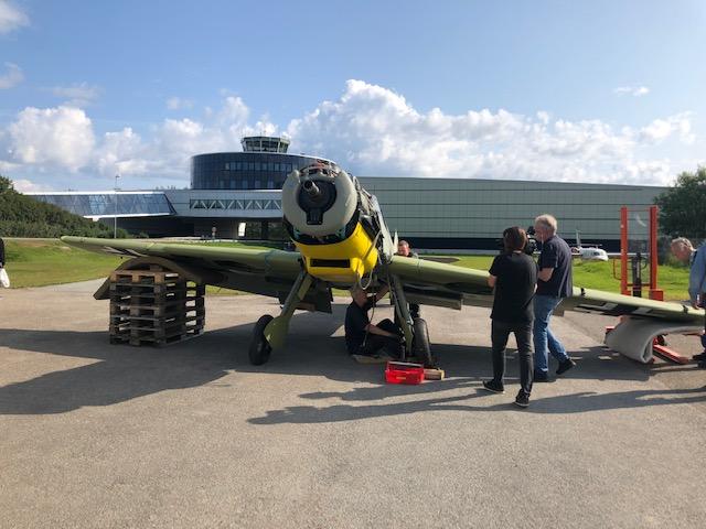 "Det er en stund siden Messersschmitt Bf109 ""Gul 3"" så dagens lys"