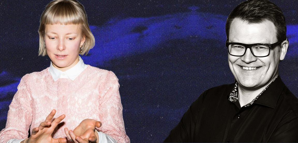 Anne Teikari ja Juha Torvinen. Valokuvat: Mitro Härkönen, AJ Savolainen. Kuvamanipulaatio: Kim Ramstedt