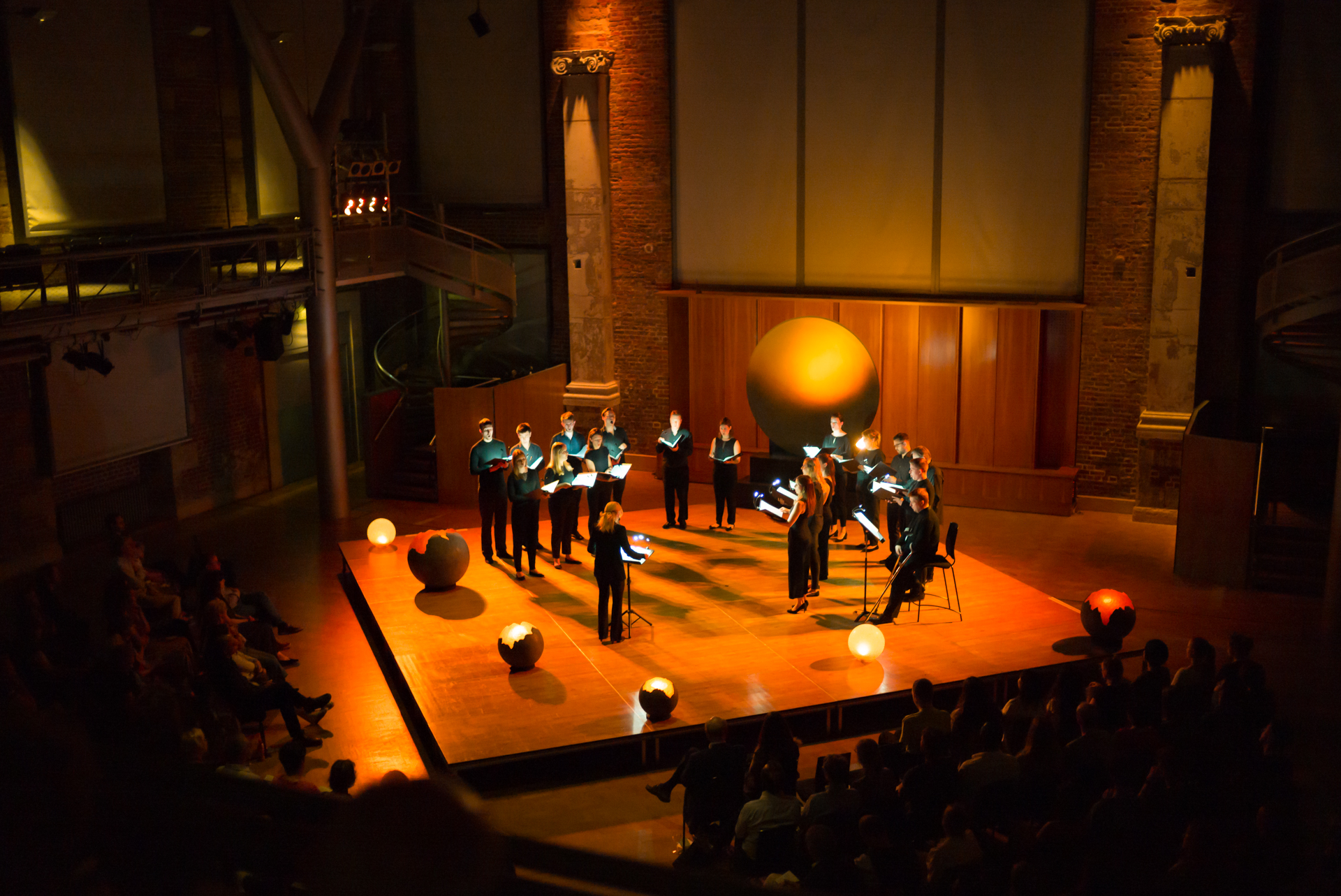 Pushing the boundaries of choral performance - Artist in Residence at London's LSO St Luke's.