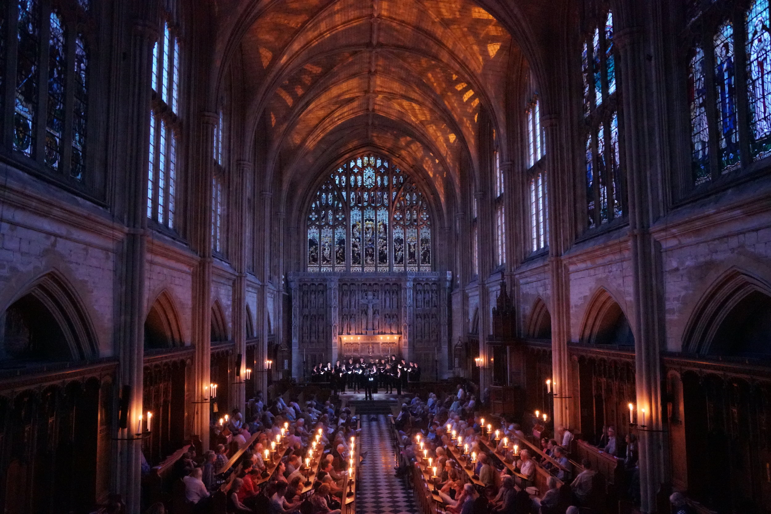A world-class touring ensemble - ORA Singers performs spell-binding 'concert experiences' across the UK and internationally. Recent concert performances have included a sold-out performance at Tage Alter Musik Festival, Regensburg, to an audience of over 1000, and two performances at the 2019 Cheltenham Music Festival.ORA creates bespoke and unique concert performances, tailored specifically to its chosen concert spaces. Musical programmes are choreographed with singer movement, lighting and specifically commissioned 'design elements'. These have included works by Linbury Prize Winner Eleanor Bull, world-class theatre designer Nicky Shaw, and creator of the iconic ORA 'light-boxes', Anna Bonomelli.