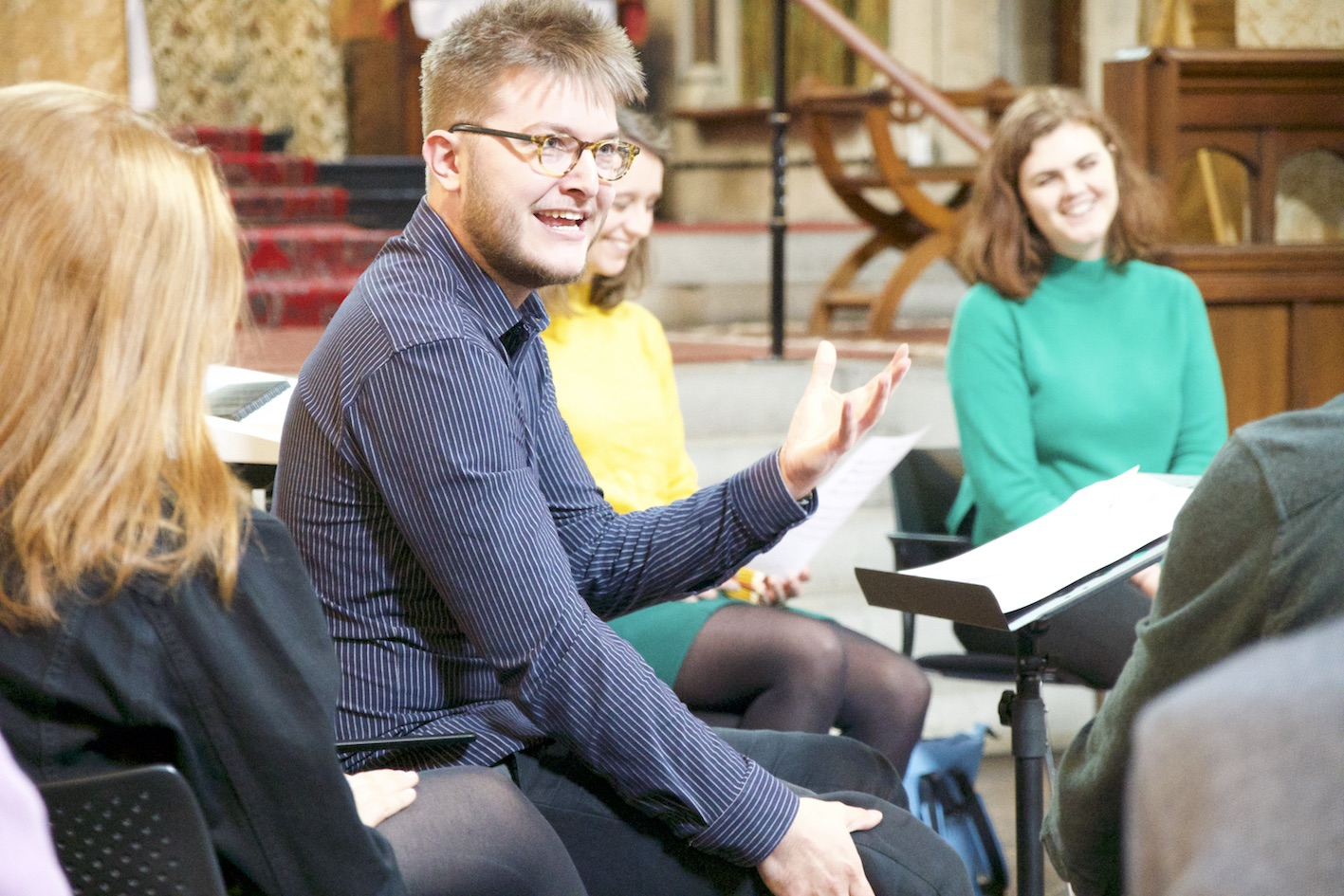 Educational innovators - In partnership with SignaturORA Singers recently launched a mentoring initiative for Young Composers, beginning with the 2019 Young Composer Competition. This programme selected 10 students from non-fee paying schools to receive compositional mentoring and to write a new composition for the ORA Singers, which was performed at King's College London in July 2019 and judged by Stephen Fry, John Rutter CBE, Katie Tearle MBE and Susanna Eastburn MBE. This scheme also involved a compositional workshop in May 2019, led by Rory Johnston and a quartet of ORA's prized singers. Young composers had their chance to hear their pieces trialed in a public workshop.As part of this mentoring initiative, the vocal ensemble also created a new digital website designed to lead an aspiring choral composer through the full compositional process. Composer Create launched in December 2018 and includes video testimonies from many of ORA's esteemed commissioned composers, as well as industry experts.