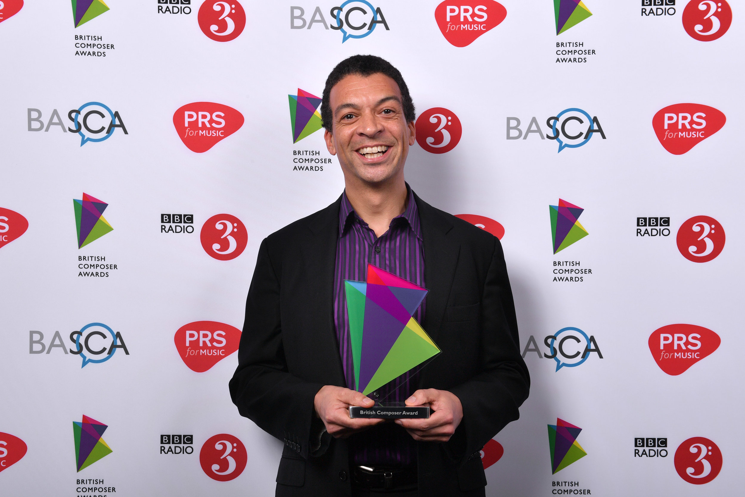 British Composer Award Winner! - In 2017, ORA was proud to see one of its commissions, Roderick Williams' 'Ave verum corpus Re-Imagined' receive a British Composer Award in the choral category. We are delighted to commission so many deserving composers and that their works are quickly being recognised for their excellence.Photo credit BASCA and © Mark Allan.
