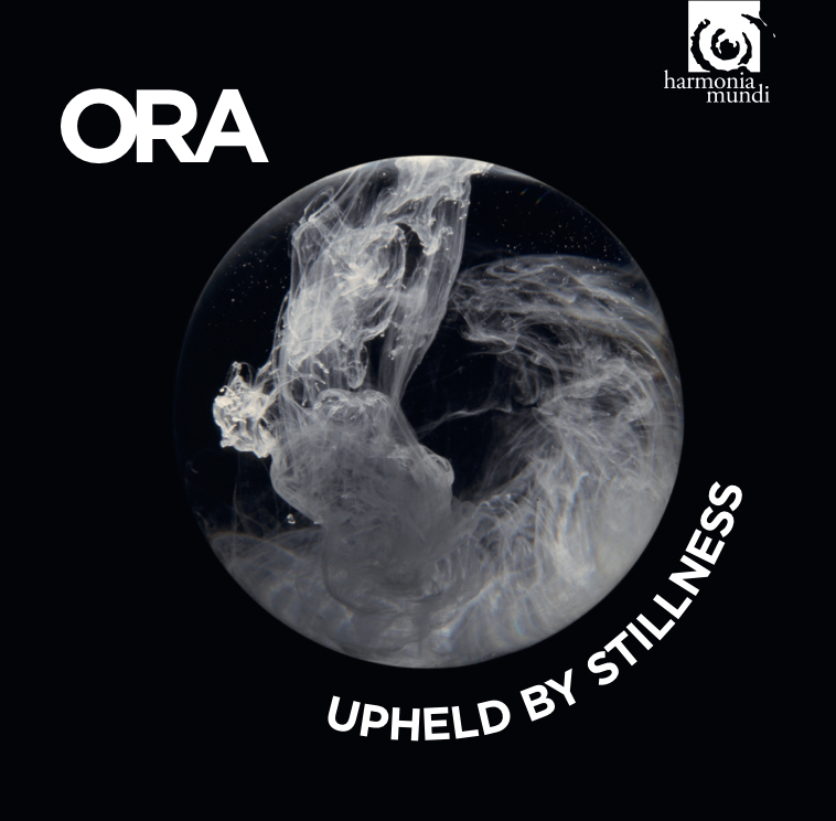 Upheld by Stillness - ORA Singers' debut album release, featuring Roderick Williams' Ave Verum Corpus Re-Imagined, which received a British Composer Award. The music of William Byrd alongside commissioned reflections by Roxanna Panufnik, Francis Pott, Alexander L'Estrange, Owain Park and Charlotte Bray.