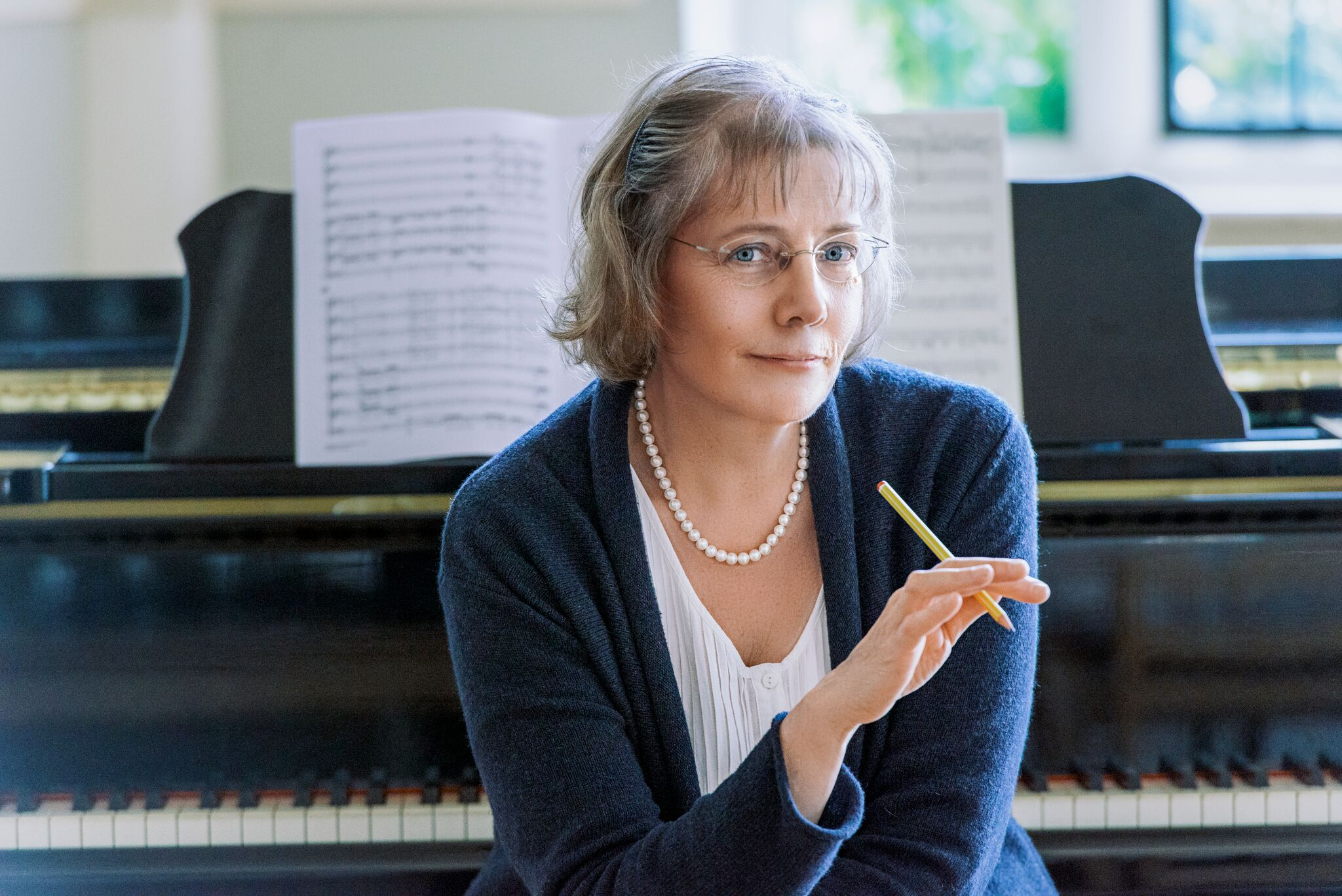 Janet Wheeler - Composer and conductor Janet Wheeler works with choirs in Saffron Walden and Cambridge. She read music at Cambridge, studying composition with Robin Holloway, before a career in secondary music followed by eight years as music producer for BBC Schools Radio. Now a busy choral conductor whose choirs include Granta Chorale and Saffron Walden Choral Society, she is also much in demand as a choral composer, writing music from small a capella pieces to choral/orchestral works, all informed by her strong response to the rhythms and meanings of texts.Her larger works include Sea Tongue (2004), Magnificat Cum Angelis (2012), The Ceaseless Round of Circling Planets, commissioned for the 2016 Thaxted Festival, and I Sing and Ever Shall from the same year, commissioned by Southampton Philharmonic Choir. Wheeler conducts the second performance of this in March in Saffron Hall. Commissions from 2017 included Songs and Visions of Joy for Psallite Women's Choir, And Then We Knew Peace and A Poison Tree for Farnham Youth Choir, and a commemorative choral cycle Gather the Good Days, commissioned as a companion piece to her earlier cycle Time Becomes a Song.Choirs performing Wheeler's music include Gloucester Cathedral Choir and I Fagiolini (both in broadcasts on Radio 3), the National Youth Choirs of Great Britain, National Youth Choir of Wales, University of London Chamber Choir, Imperial College Choir, Chandos Chamber Choir and many more.Her recent competition successes include the Friends of Cathedral Music Diamond Jubilee Introit Competition in 2016 and the Hendrix Carol Competition 2017. She is currently working on music for NYCGB with percussionists O Duo.