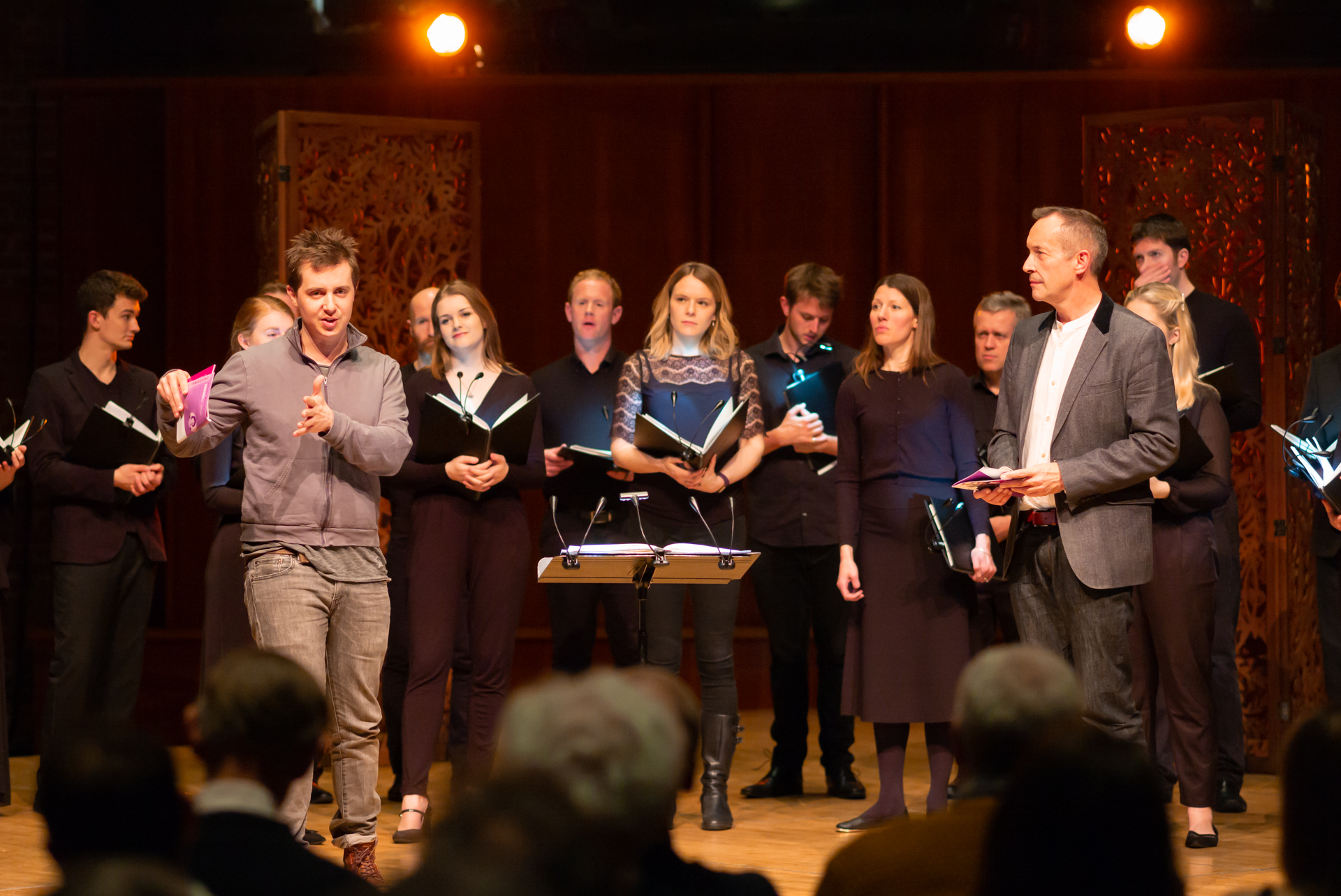 Sicut lilium - A reflection on Antoine Brumel Sicut LiliumI was honoured to be be asked to write a short piece for ORA's song of songs recording. The plan was to create a short new setting of 'Sicut Lilium' so that the disc could begin and end with the same text – the Brumel setting at the beginning and mine at the end. Daunting – since the Brumel is a miniature gem of a piece. Aside from the simplicity and beauty of the writing, it felt so spiritually confident and hopeful. In my version I focussed on the image of the lily amongst the thorns – to me it suggests that you can't have faith without doubt and you can't have love without the possibility of losing it.WORLD PREMIERE: 1st February 2017, Cutty Sark, GreenwichALBUM: Desires: A Song of Songs collection.