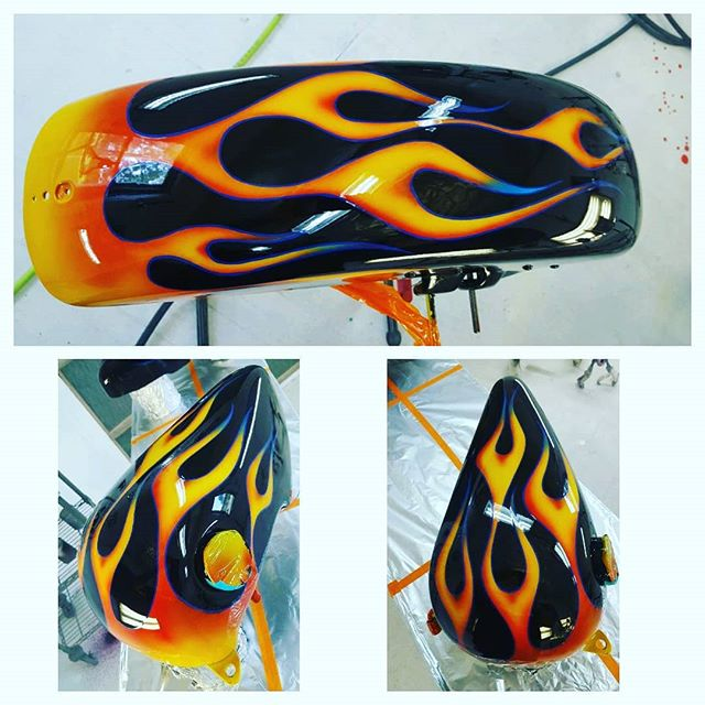 #simsdesigns #flames #custompaint
