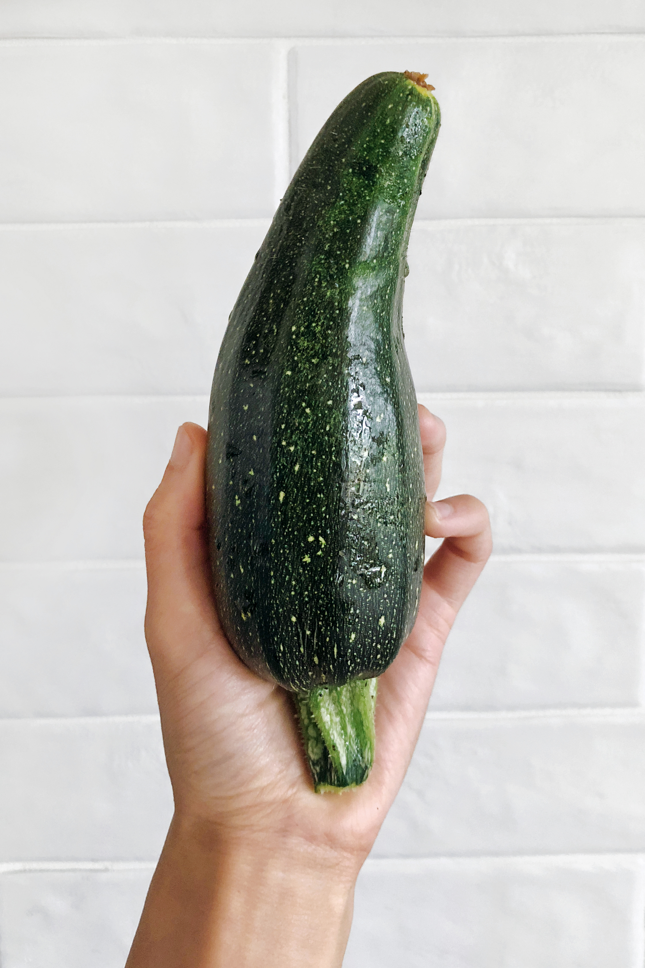 Zucchini with character