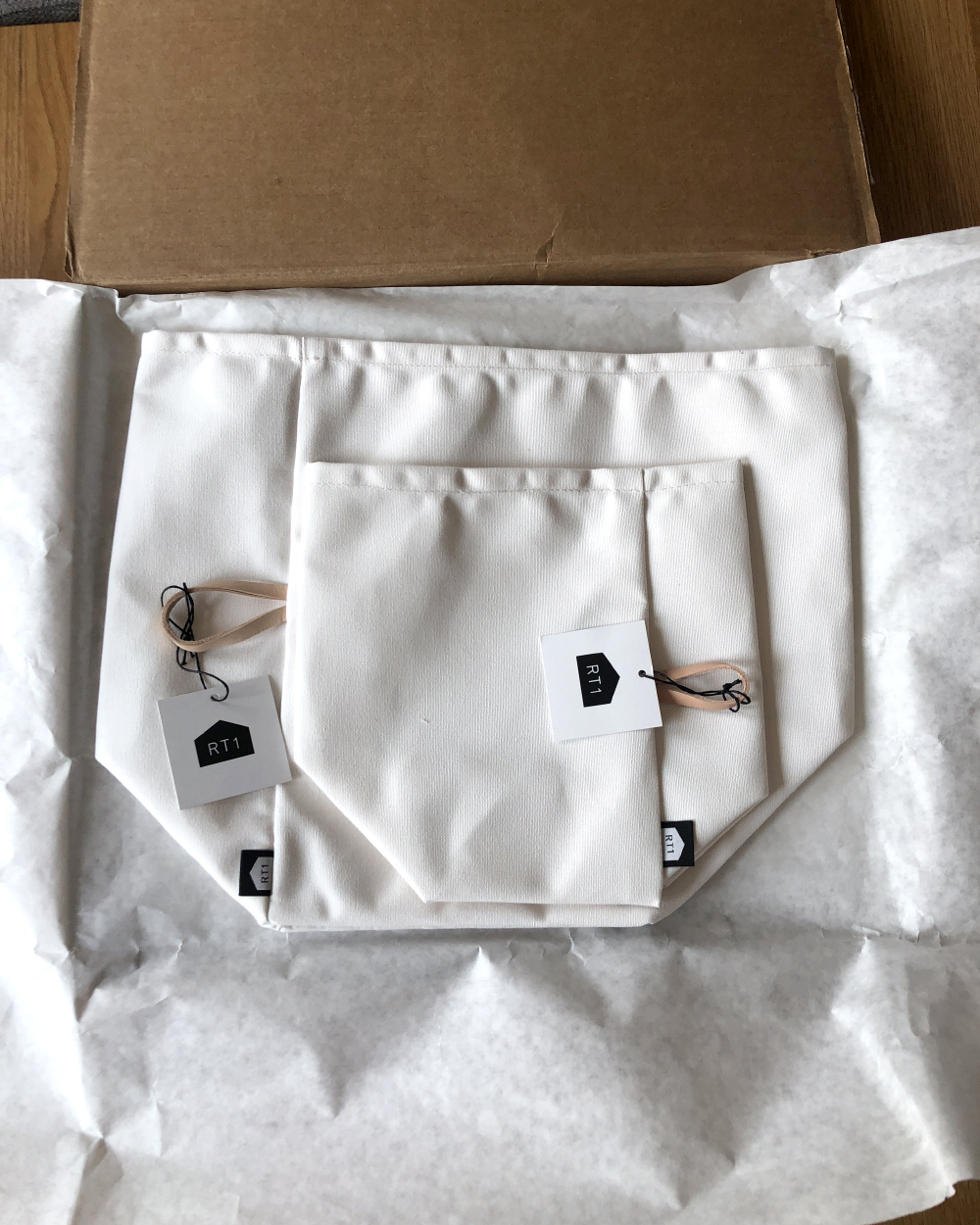Everything was mailed efficiently with minimal packaging