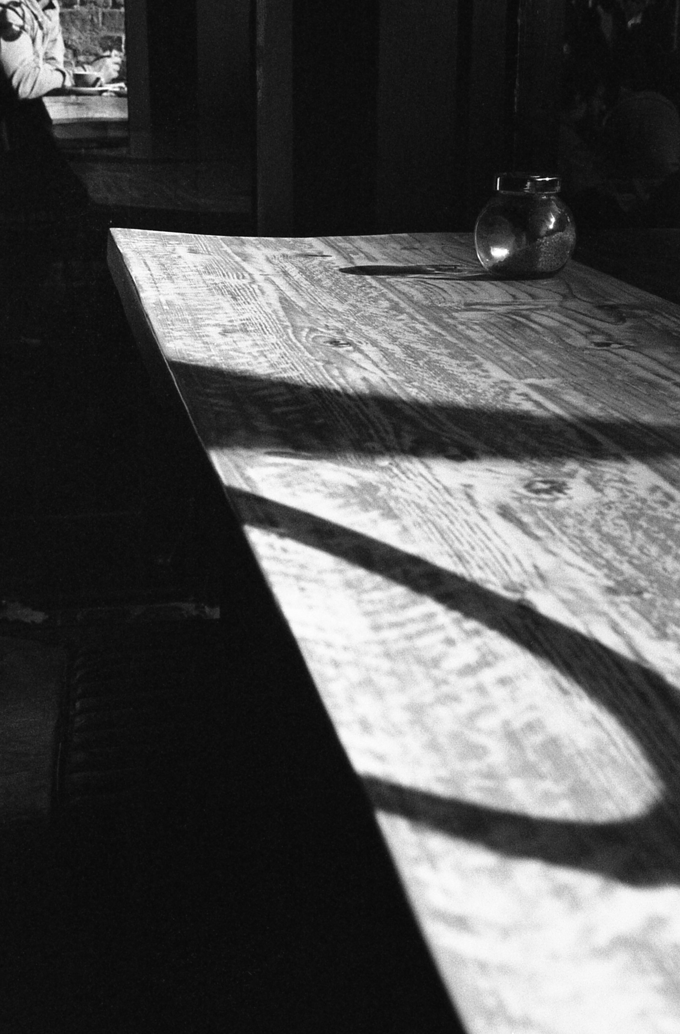 Coffee Bench - Leica M4P - Ilford HP5.jpg