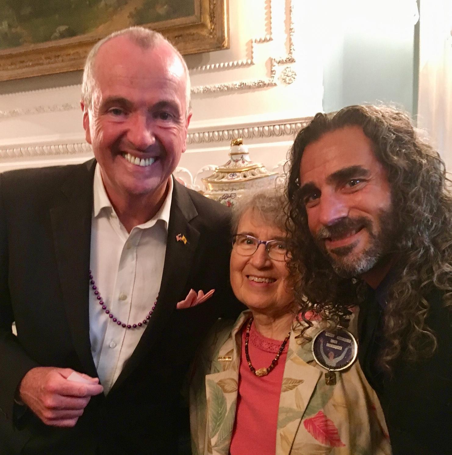 BRCSJ Chief Activist Robt Seda-Schreiber with Governor Murphy & Board Member Carol Watchler (proud @ Pride Reception, Governor's Mansion).jpg