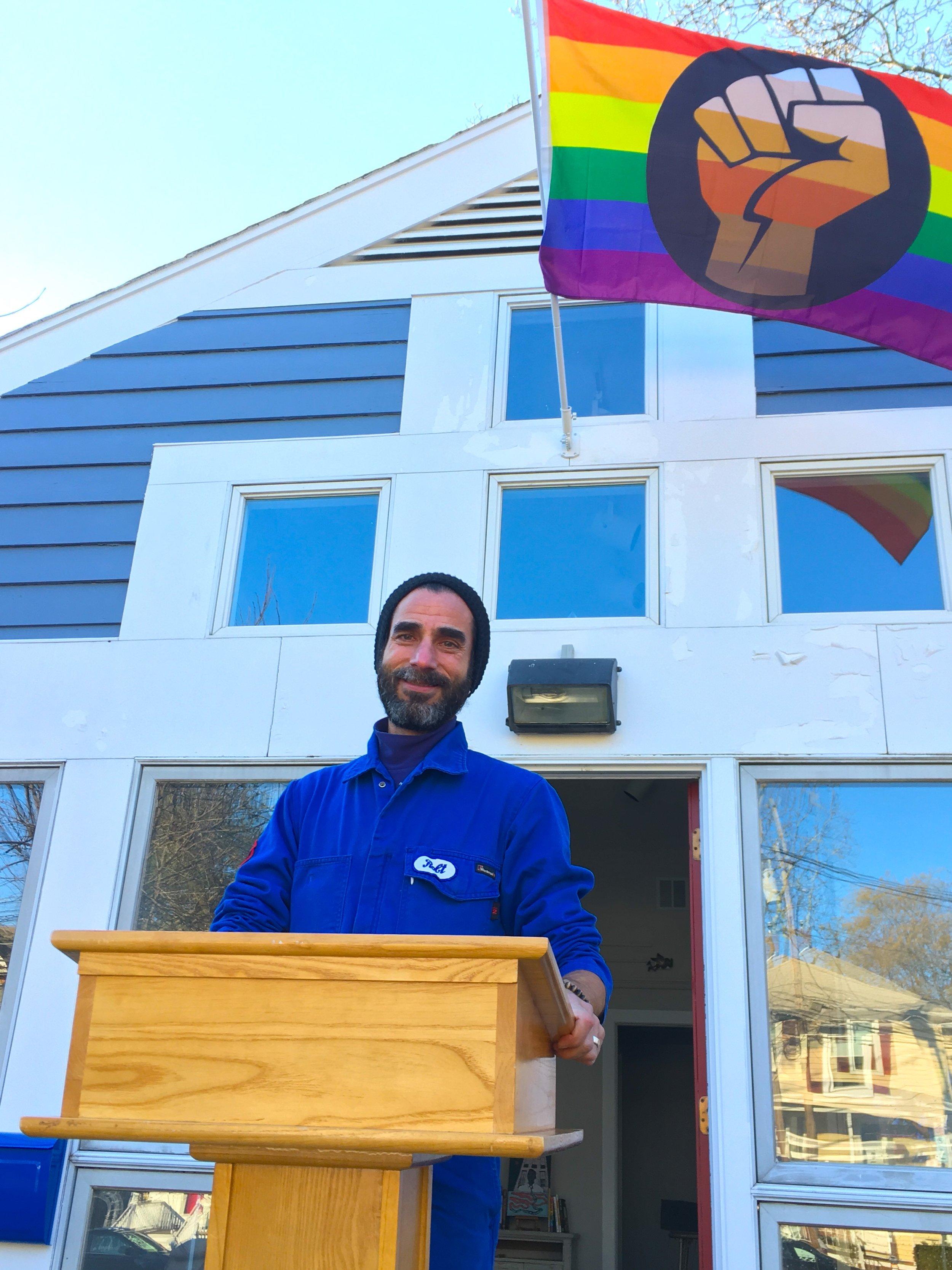 our first sermon @ BRCSJ HQ.JPG