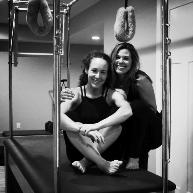 - Duet SessionsDuet sessions are very similar to private instruction, but you get to experience your practice with another person.  This can be beneficial for motivation and accountability and is also more cost effective.  If you are new to Pilates, I recommend taking 3 private sessions to become familiar with apparatus and discuss your personal needs and concerns.