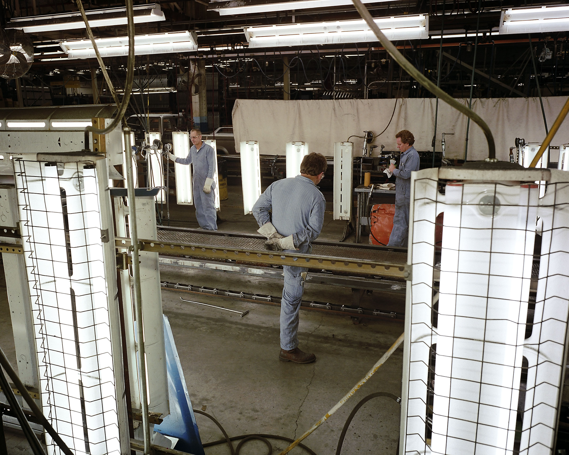 Ford Motor Co. (truck assembly), St. Paul, MN, 1986.