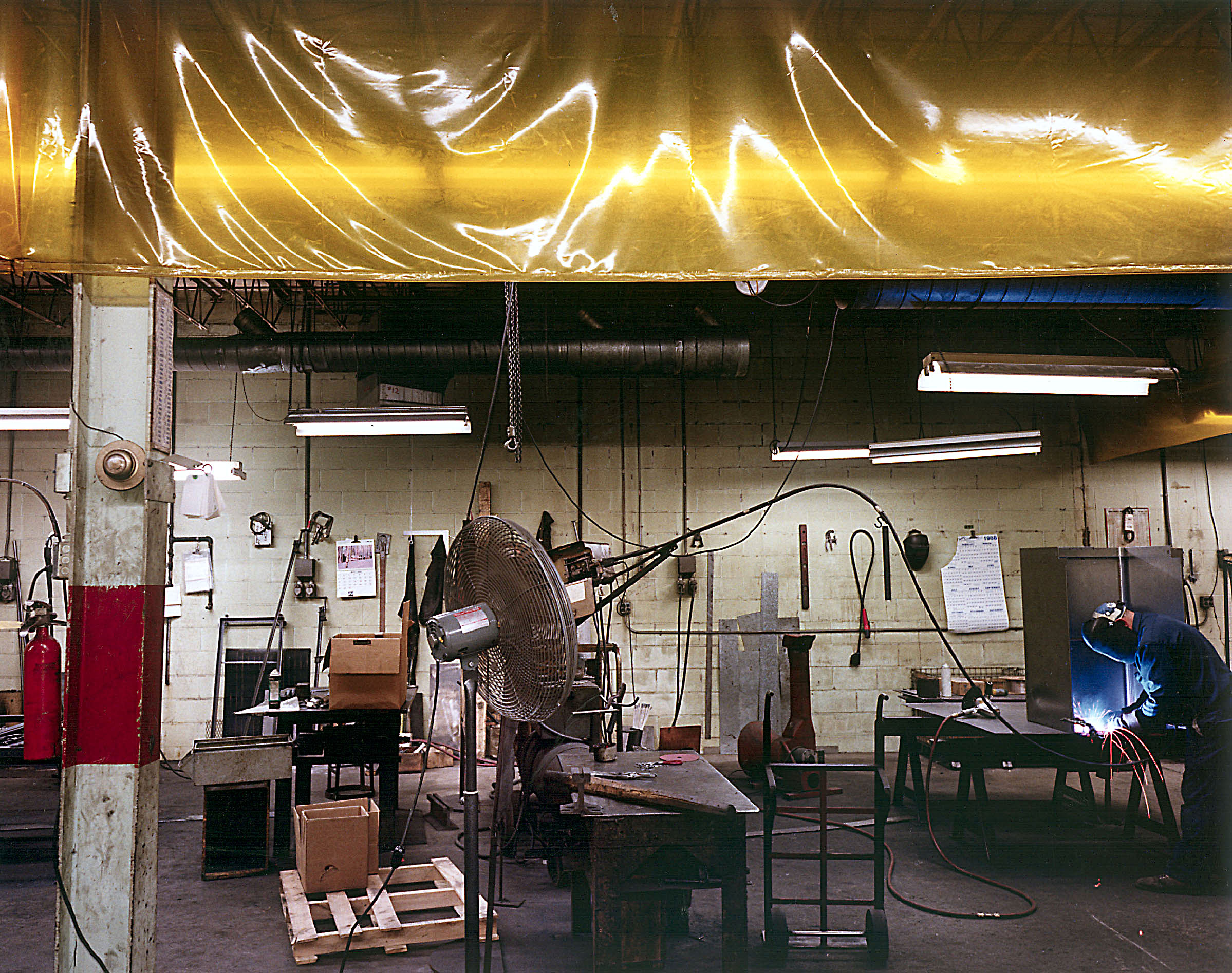 Stremel Mfg. Co. (custom metal parts), Minneapolis, MN, 1988.