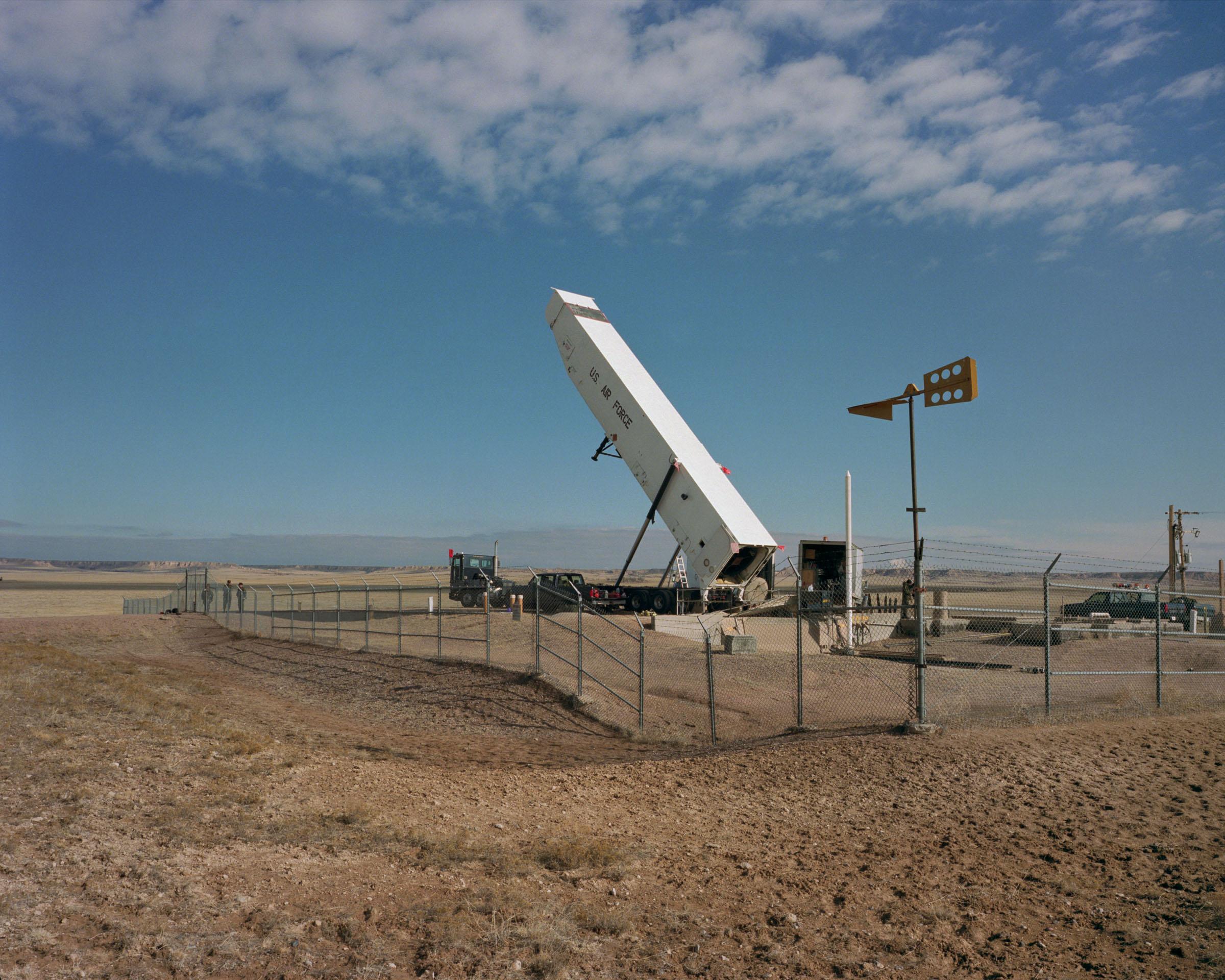 Minuteman III missile, silo J-6, Peetz CO, 1998.