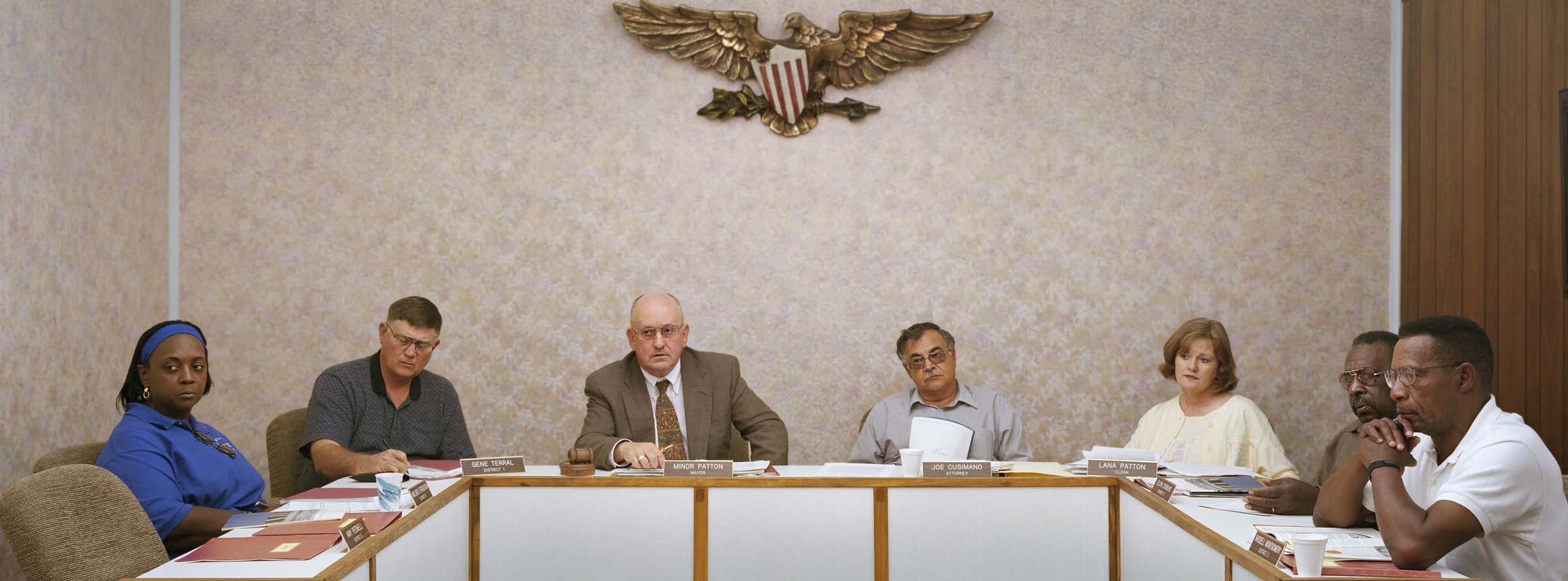 Bernice, Louisiana (population 1,809) Town Council, May 14, 2002.