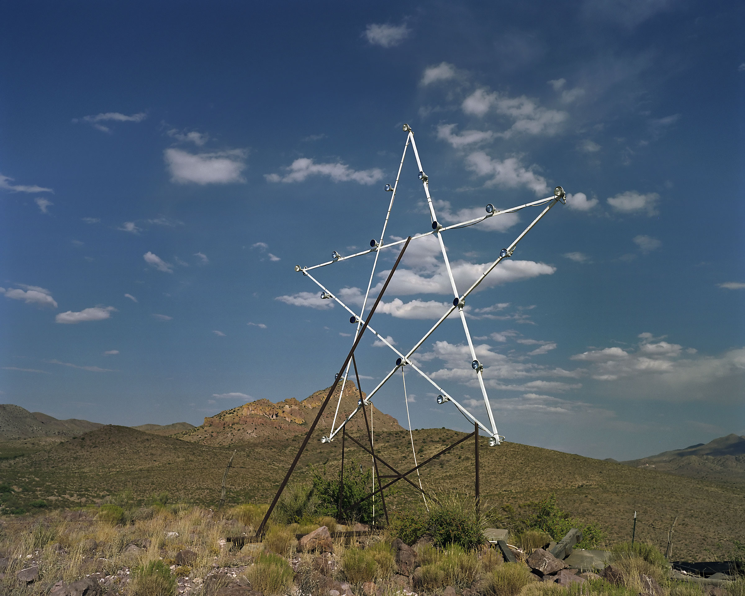 "Star (""Terror Town"", Playas Training Center, New Mexico) 2005."