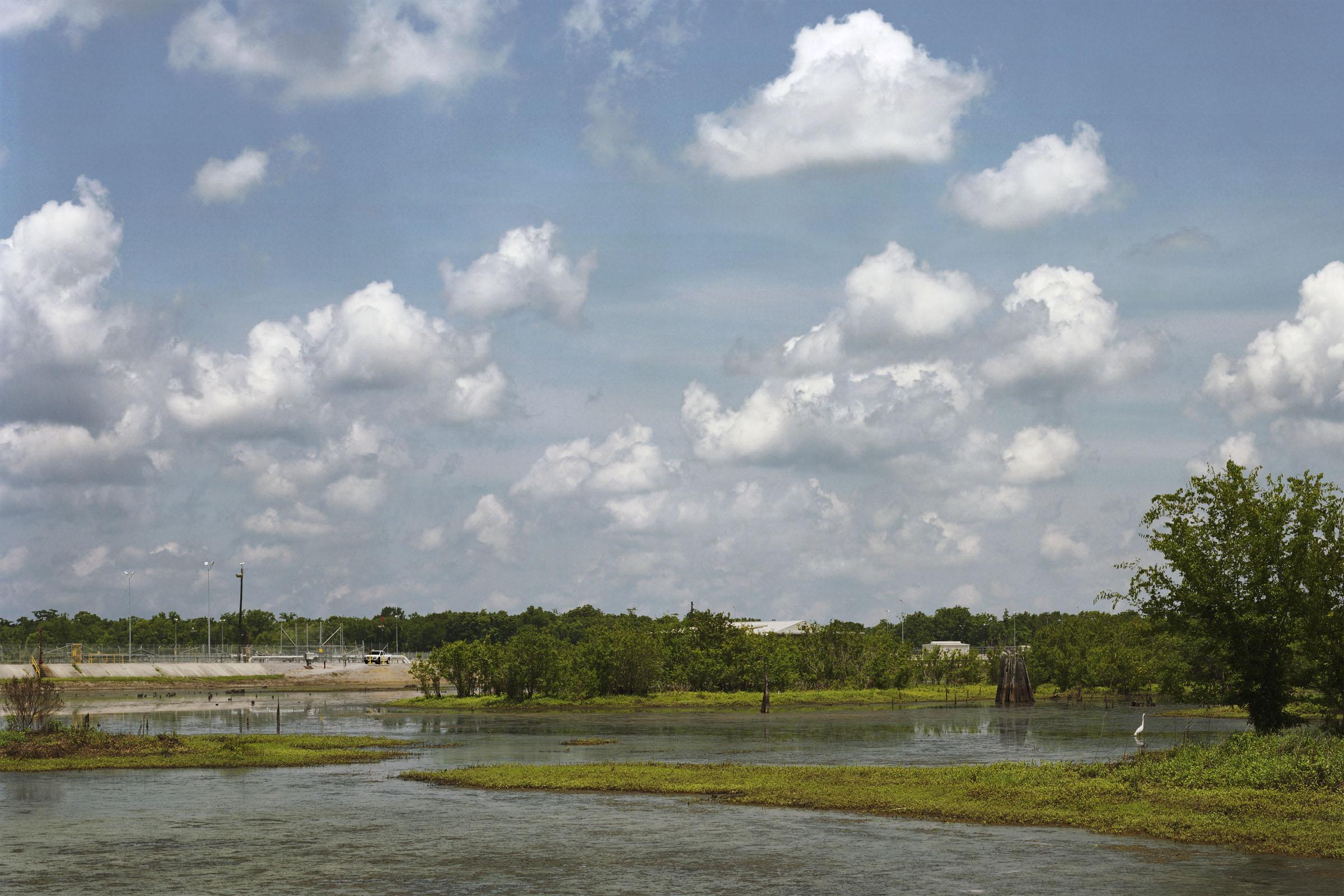 73.1 million barrels, Bayou Choctaw, Louisiana.