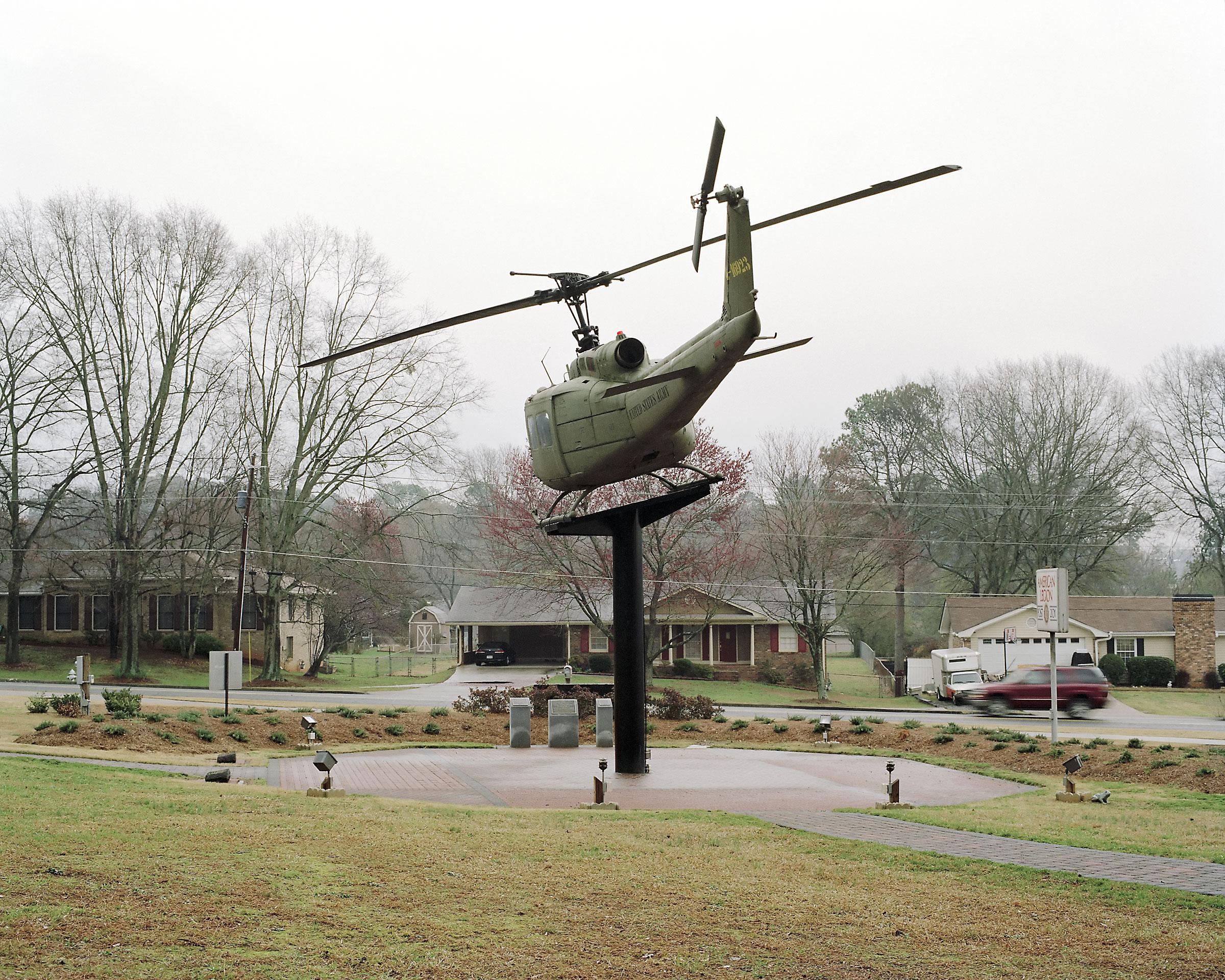 UH-1H Huey helicopter, American Legion Post 201, Alpharetta, Georgia 2008.