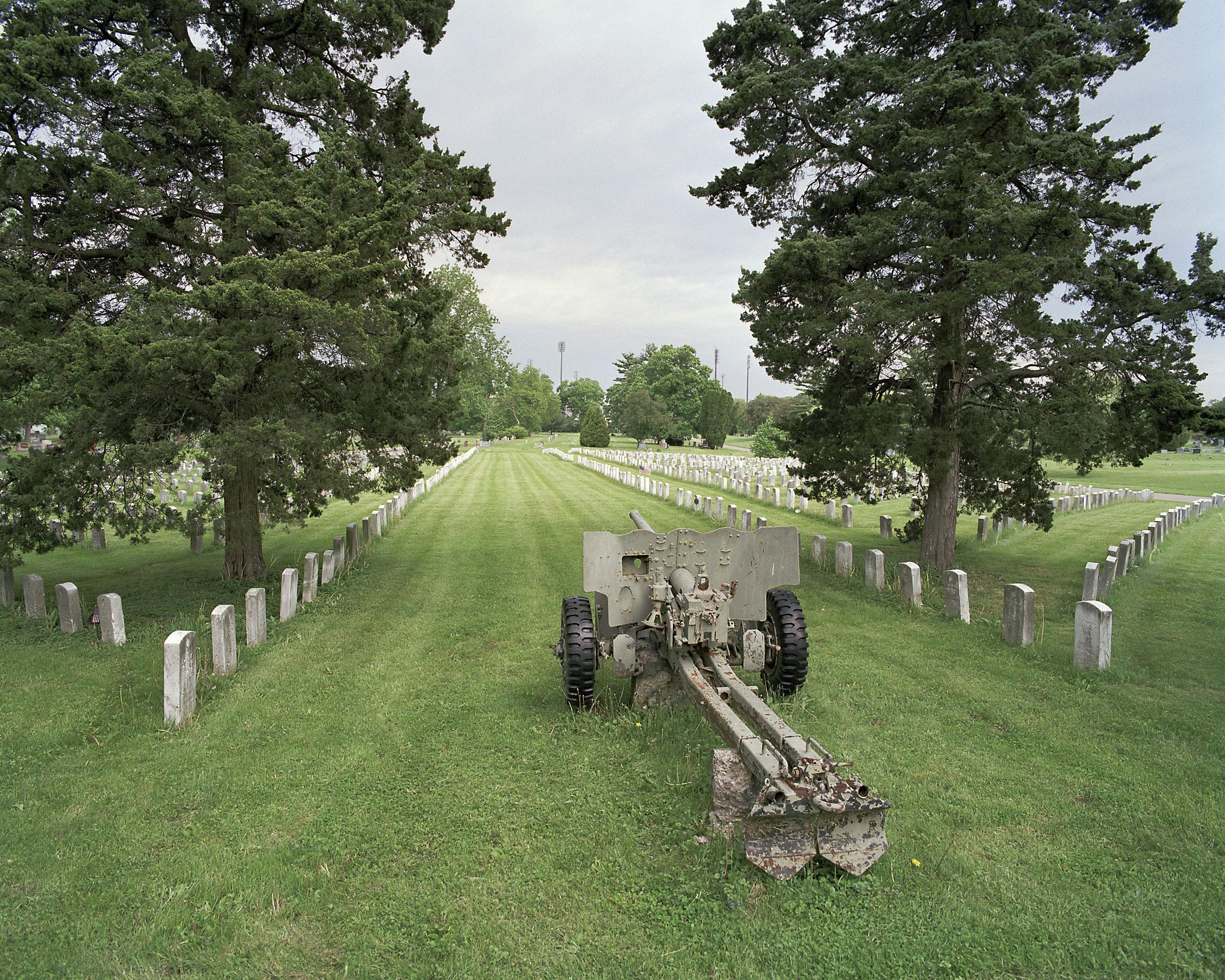 Artillery, Greenlawn Cemetery, Columbus, Ohio 2008.