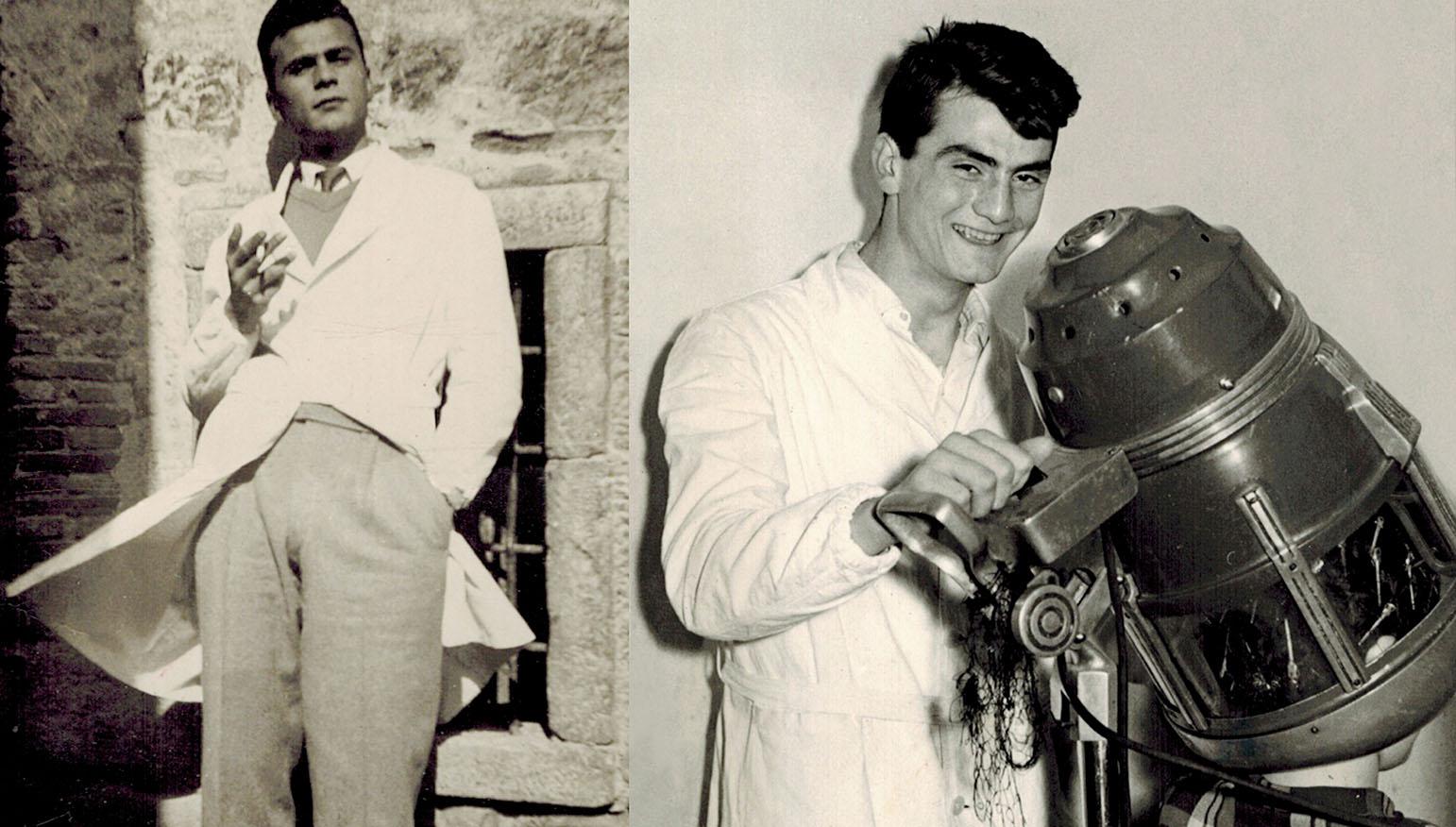Left: Giosué Venere (Father), right: Tonino Venere (Uncle) c. 1956