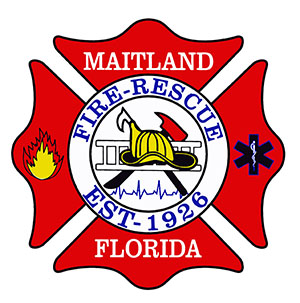 Maitland Fire-Rescue Department Logo