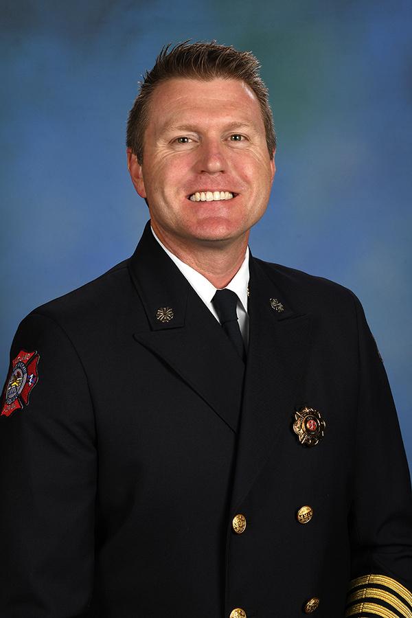 Fire Chief Will Watts