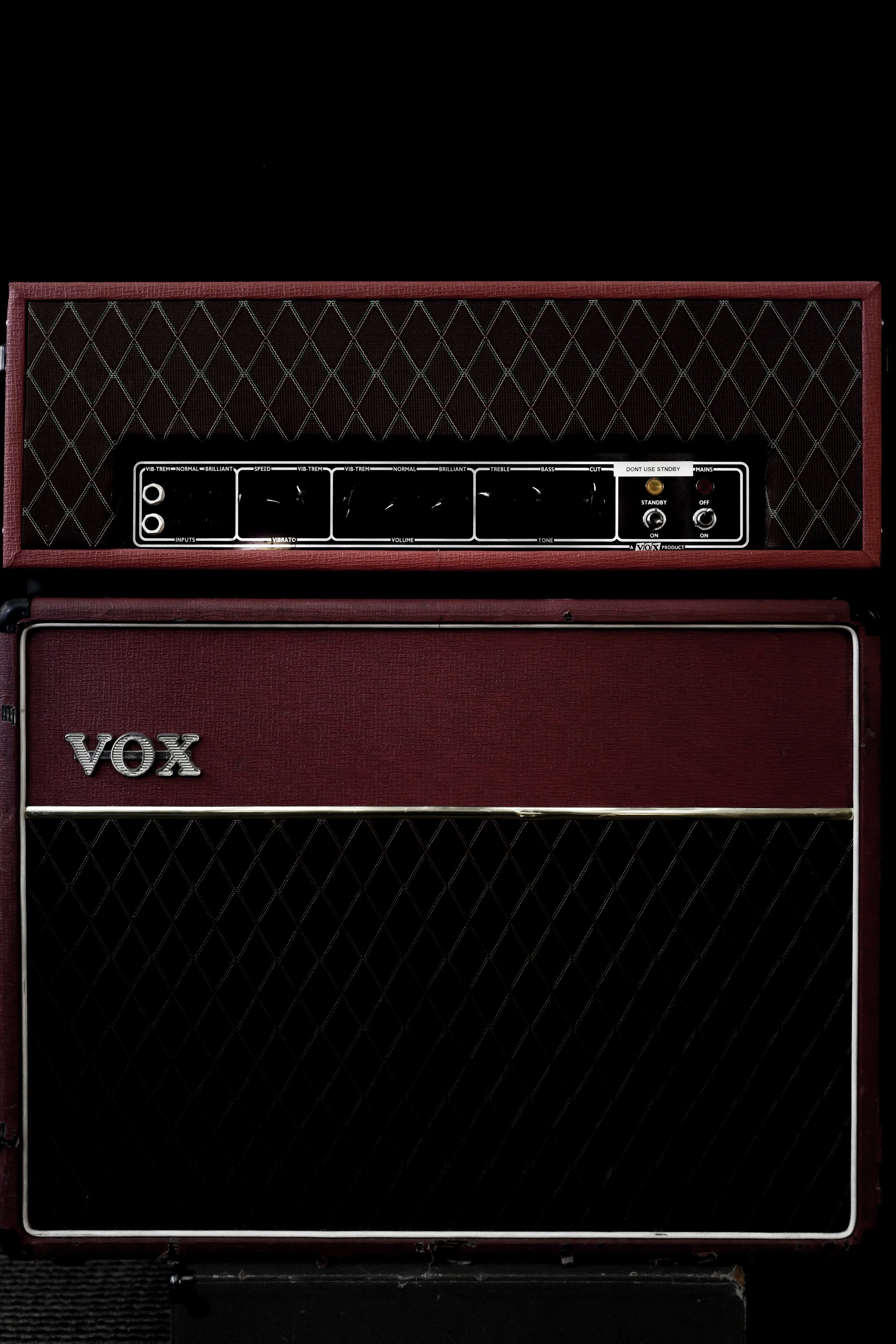 1993 Vox AC30 - The midrange that resides in my head and heart.