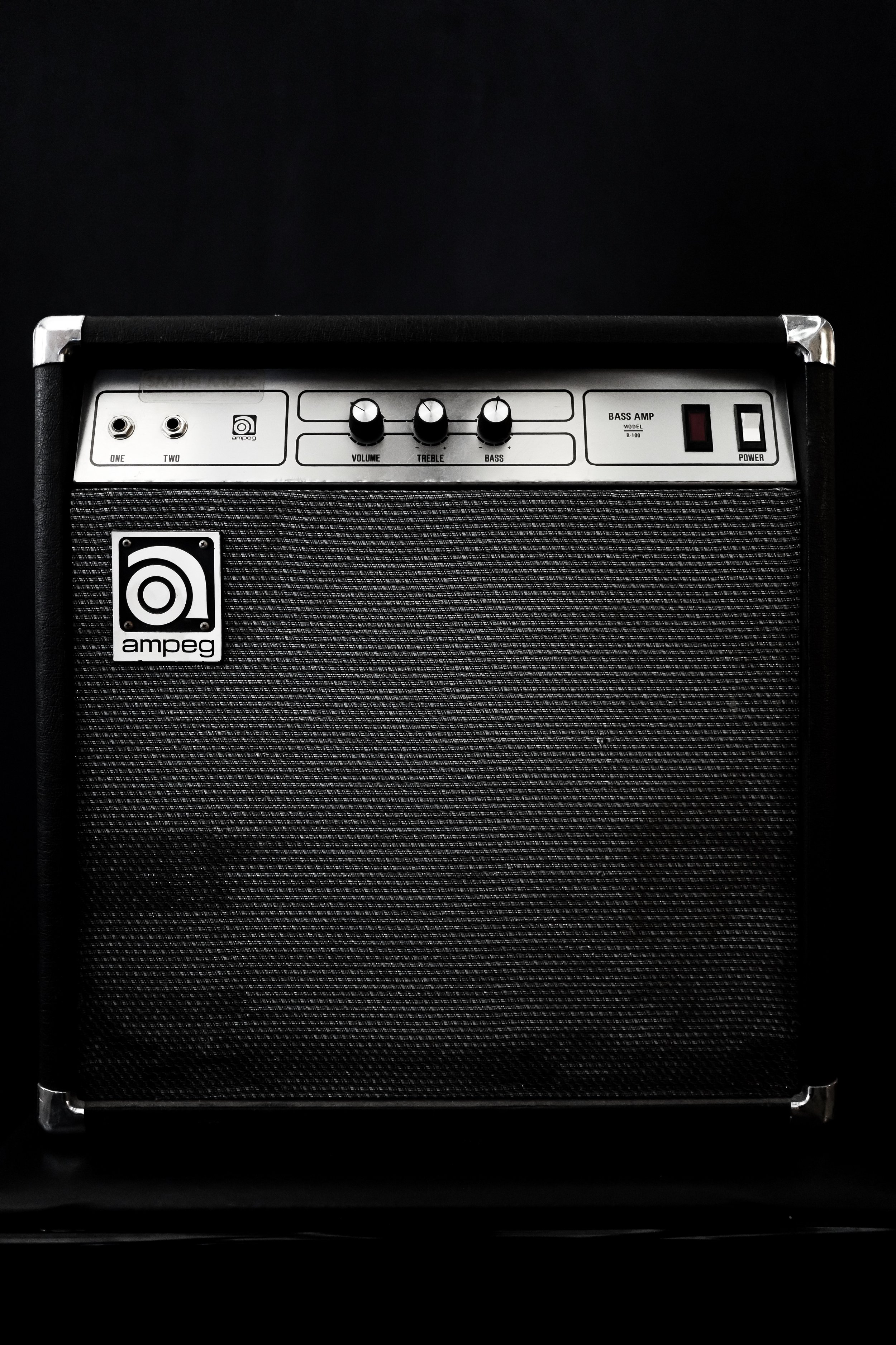 Ampeg Solid State - When your find on craigslist turns out to not be a serial killer.