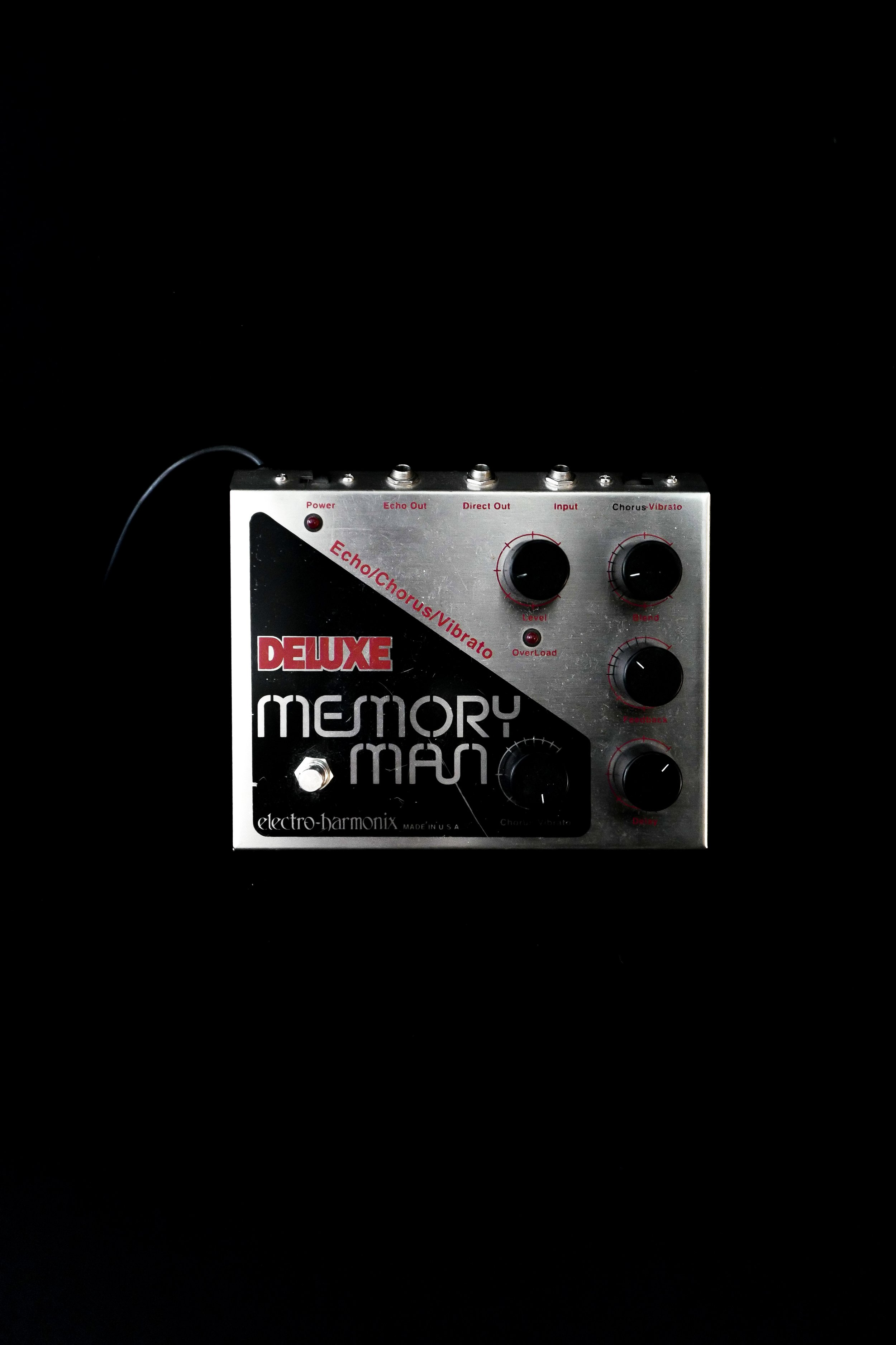Electro-Harmonix Deluxe Memory Man - My favorite delay for anything.