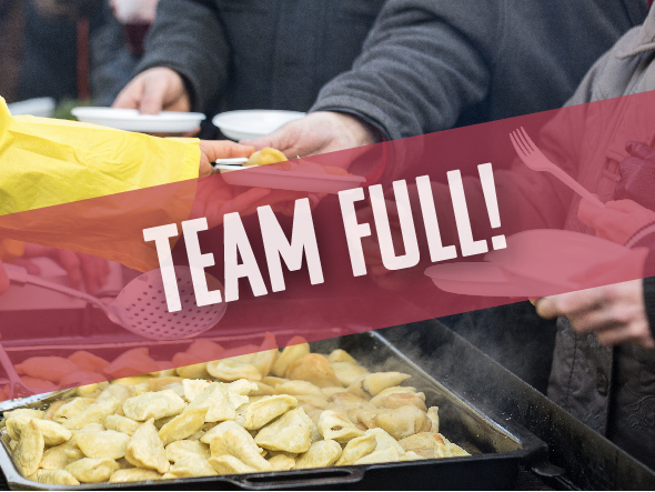 Join the Stephen Center team to hand out a cooked meal and necessity items to the homeless community. - (0 MORE POSITIONS NEEDED)
