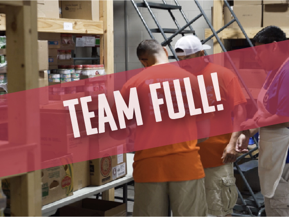 Join Dream City Omaha's very own Storehouse Food Bank to supply groceries to families in need. - (0 MORE POSITIONS NEEDED)