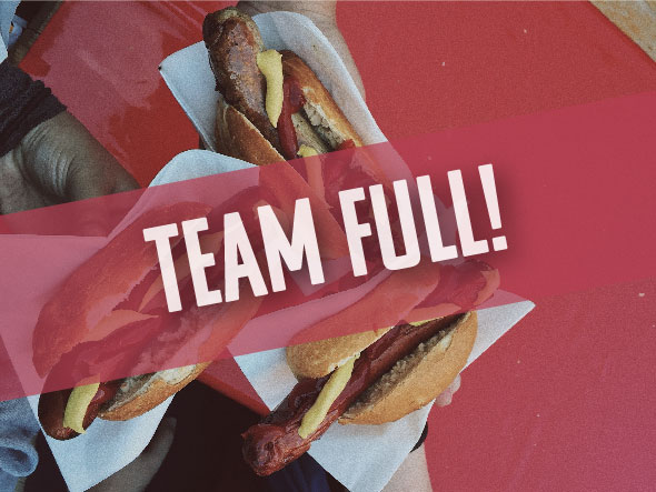 Help handout free hotdogs at the block party. - (0 MORE POSITIONS NEEDED)