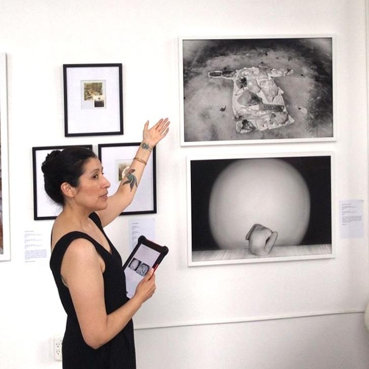 Helen Criales, curator's talk