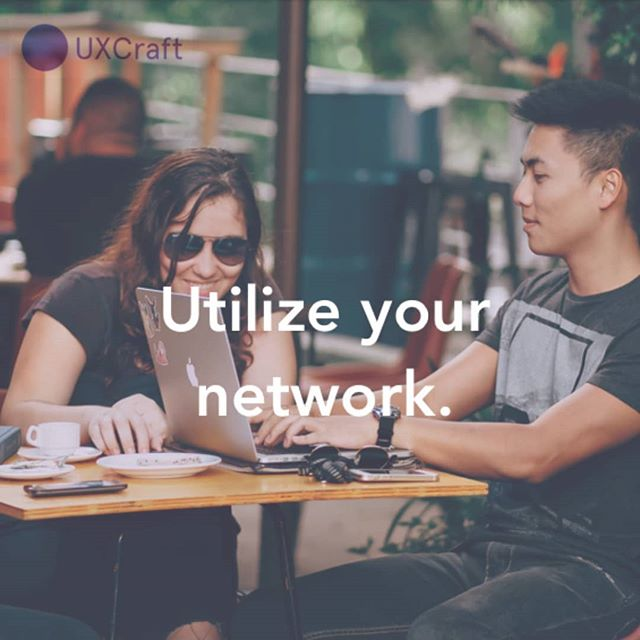 Last tip in this series is: utilize your network!  For managing connections, LinkedIn is your best friend.  If you are interested in a specific company, do some sleuthing and figure out who the hiring manager or head of UX is, and find out who in your network (even if there are a free degrees of separation) can connect you to them.  At the very least, find out if you are a 2nd or 3rd degree connection with anyone who works there who could tell you more about the company.  This is why the previous tip, meeting new people IRL, is important- build your network so you can tap into it later.  If you're nervous about reaching out or wondering what to say, usually hiring managers can't say no if you just request a little information about what hiring at Company X is like! You can move the conversation towards any open roles and potential fit as you go.  Stay tuned for our next series on Top Portfolio tips! ⚡ www.uxcraft.design  #uxhire #uxcraft #uxdesignjob #uxdesigner #uxui #linkedin #networking  #jobhunt #careergoals #careerchange #ux #uxdesign #uxresearch