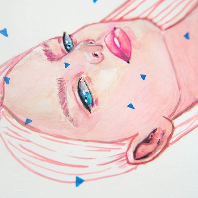 Prints coming soon ✨ Remember to take a look at the process video on IGTV 🎥 . . . #art #artist #artwork #artistsoninstagram #artistsofinstagram #watercolour #watercolourillustration #watercolourart #watercolourpainting #illustration #illustrator #portrait #girl #fashion #colourful #livecolourfully #abstract #abstractart #abstractpainting #creativeinspiration #londoncreatives #artofhannahroseshaw #watercolour_channel #thisisaworldofart #gouache #painting @art_dailydose @sharing.art @illustrationhowl @thewomenwhodraw @illustrationartists @artisticmoods @illustration_daily @exploring.art @arysanity @the.art.shed @art_spotlight