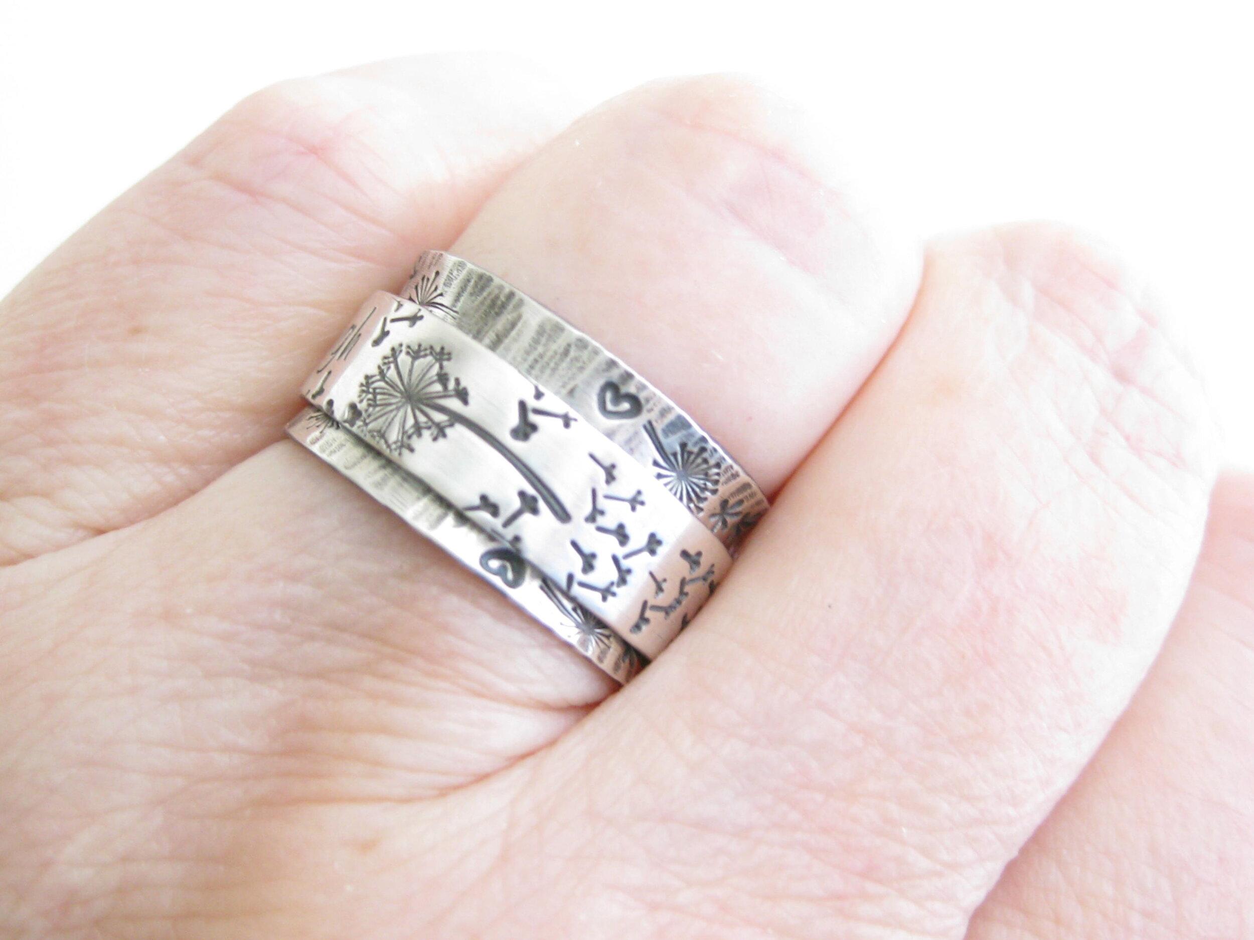 Mother/'s  Day gift ring Women/'s ring Handmade ring Sterling silver ring Golden Rutile ring Engagement Ring Finger Ring Gift For Her