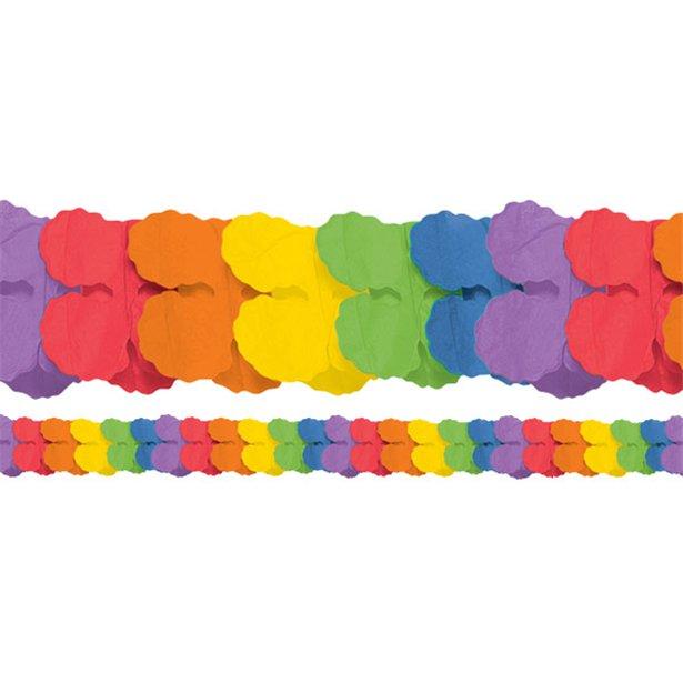 Regenbogen-Girlande