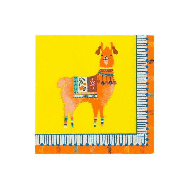 1 Paket Lama-Servietten
