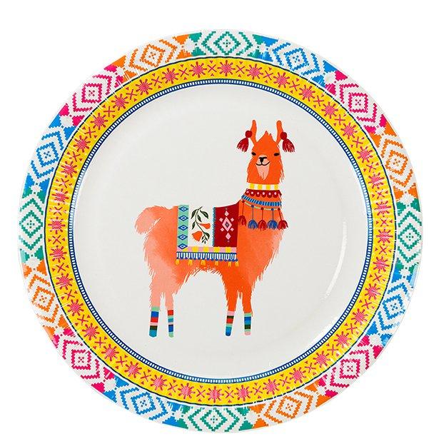 8 Lama Teller