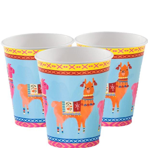 8 Lama Cups